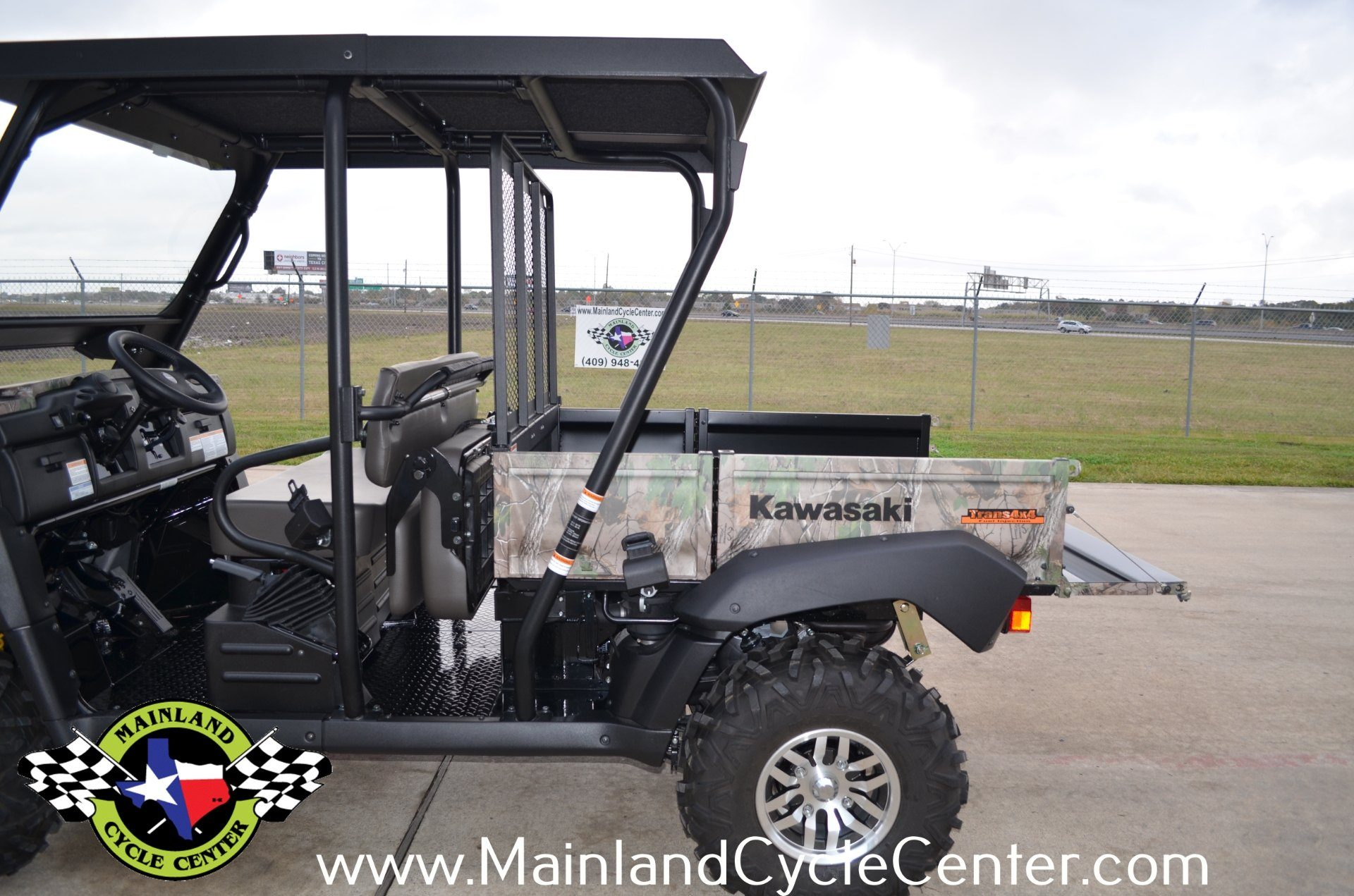 2016 Kawasaki Mule 4010 Trans4x4 Camo in La Marque, Texas - Photo 16