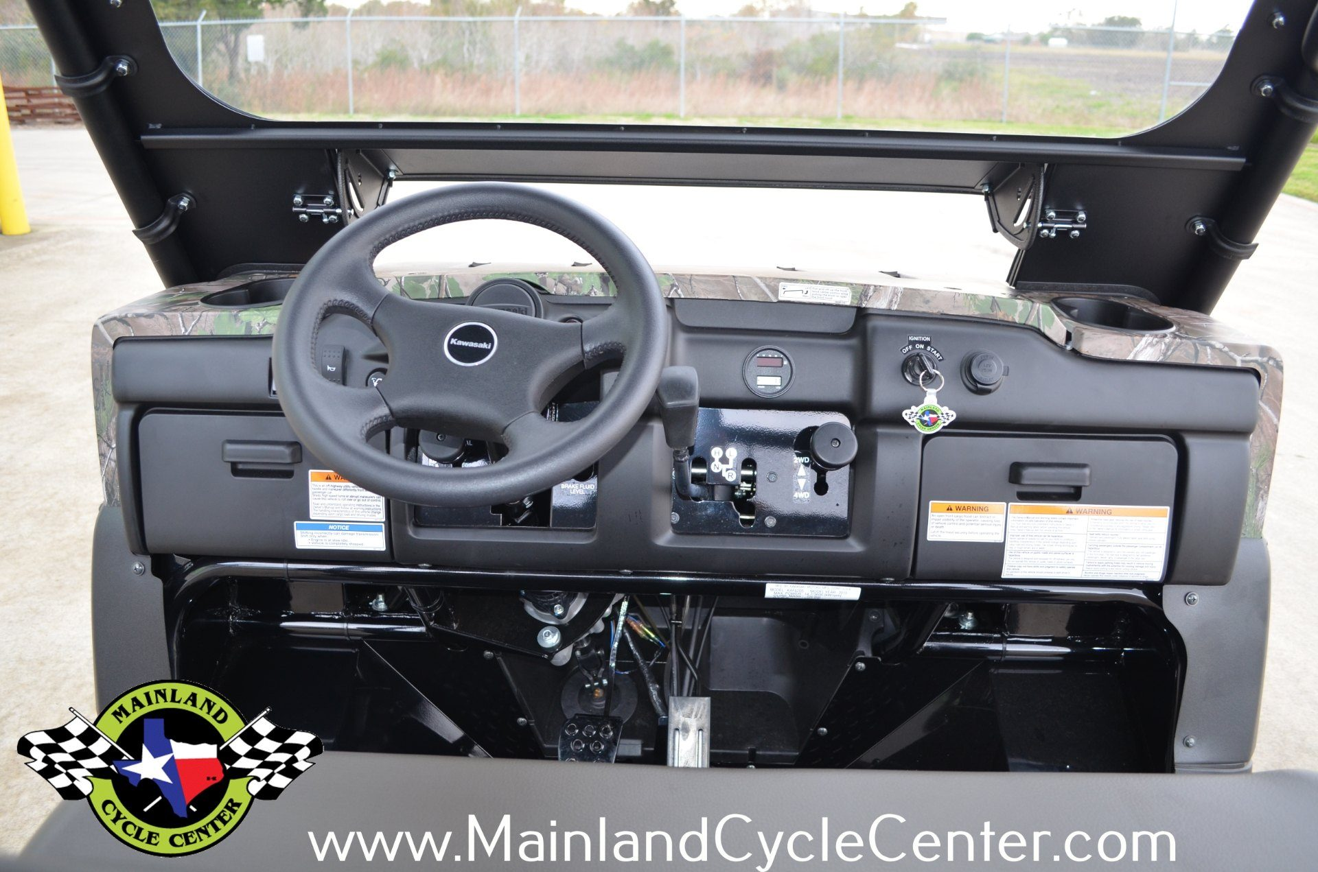 2016 Kawasaki Mule 4010 Trans4x4 Camo in La Marque, Texas - Photo 19