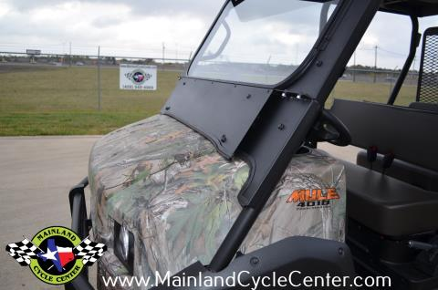 2016 Kawasaki Mule 4010 Trans4x4 Camo in La Marque, Texas - Photo 25