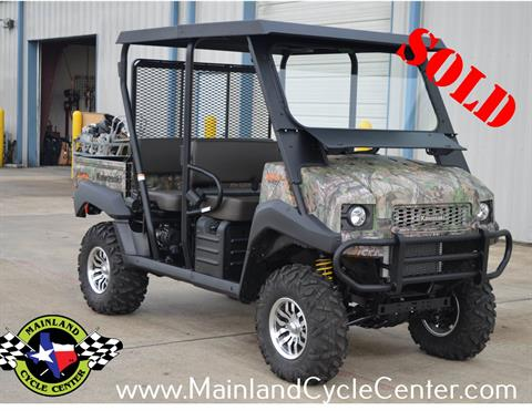 2016 Kawasaki Mule 4010 Trans4x4 Camo in La Marque, Texas - Photo 1