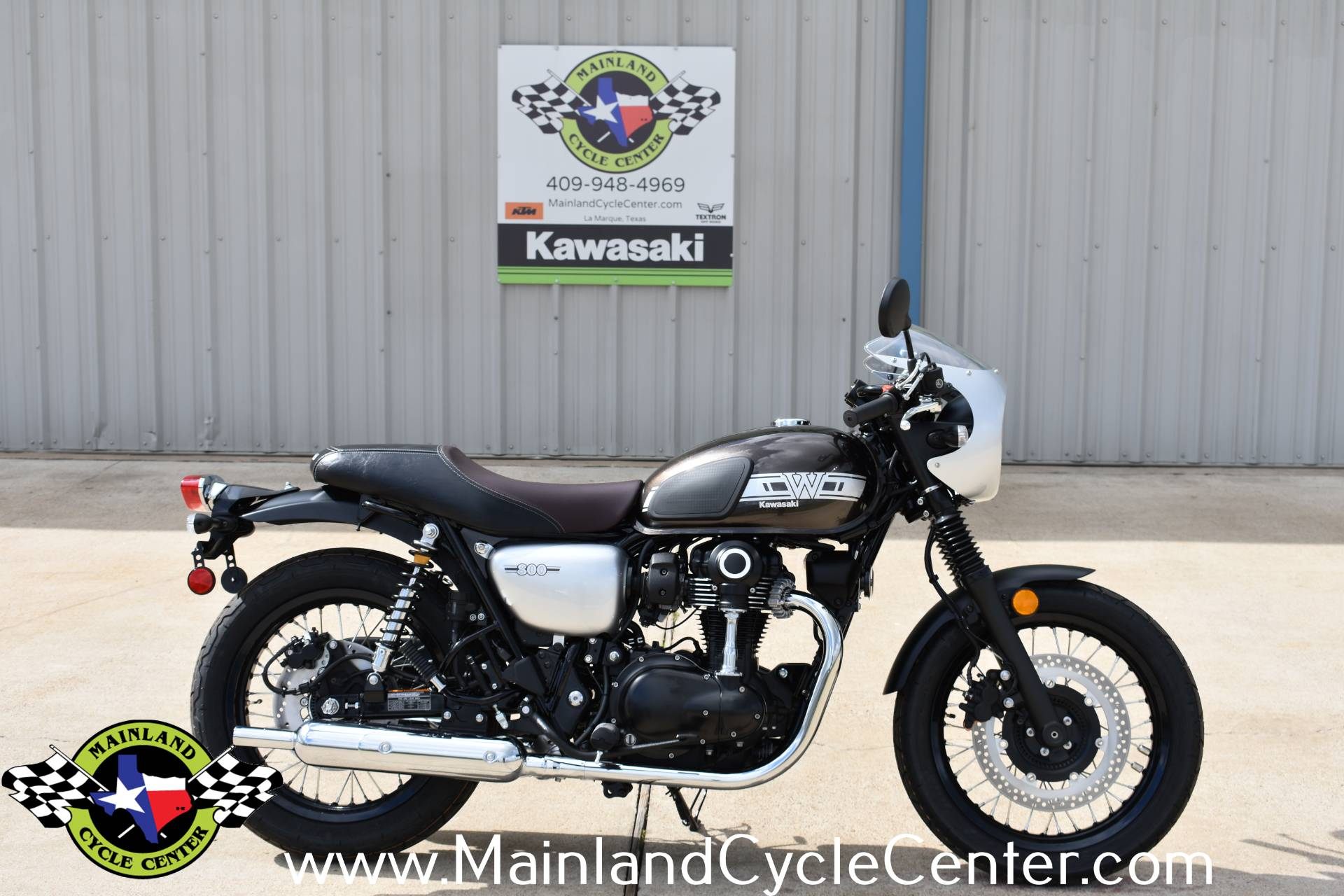 2020 Kawasaki W800 Cafe in La Marque, Texas - Photo 2