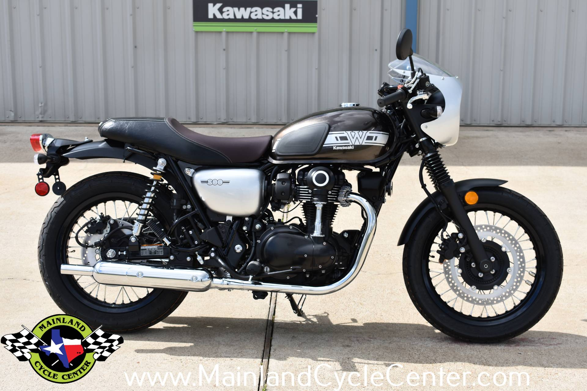 2020 Kawasaki W800 Cafe in La Marque, Texas - Photo 1