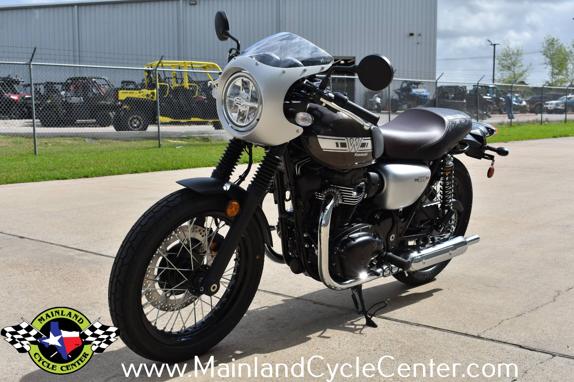 2020 Kawasaki W800 Cafe in La Marque, Texas - Photo 6