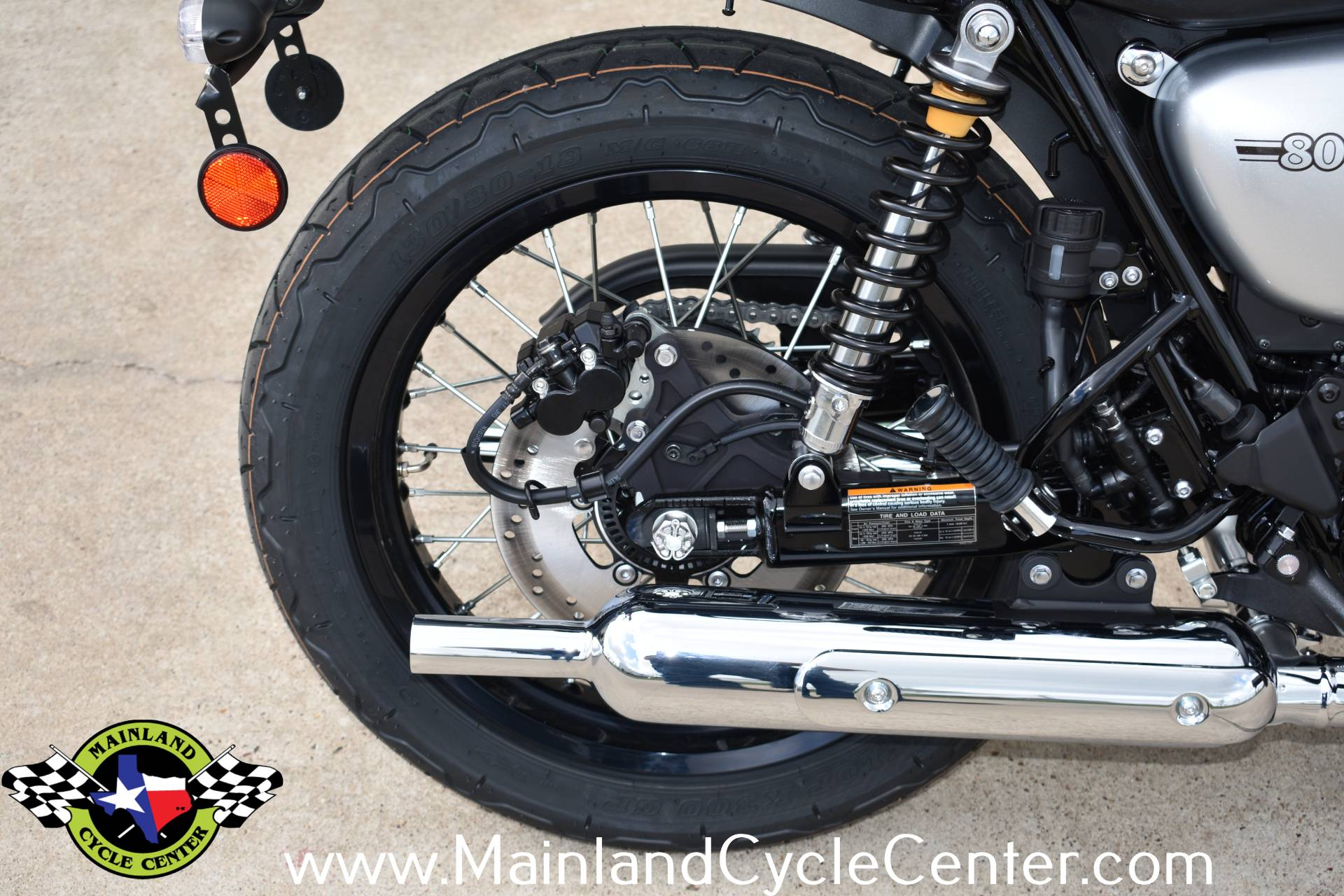 2020 Kawasaki W800 Cafe in La Marque, Texas - Photo 15