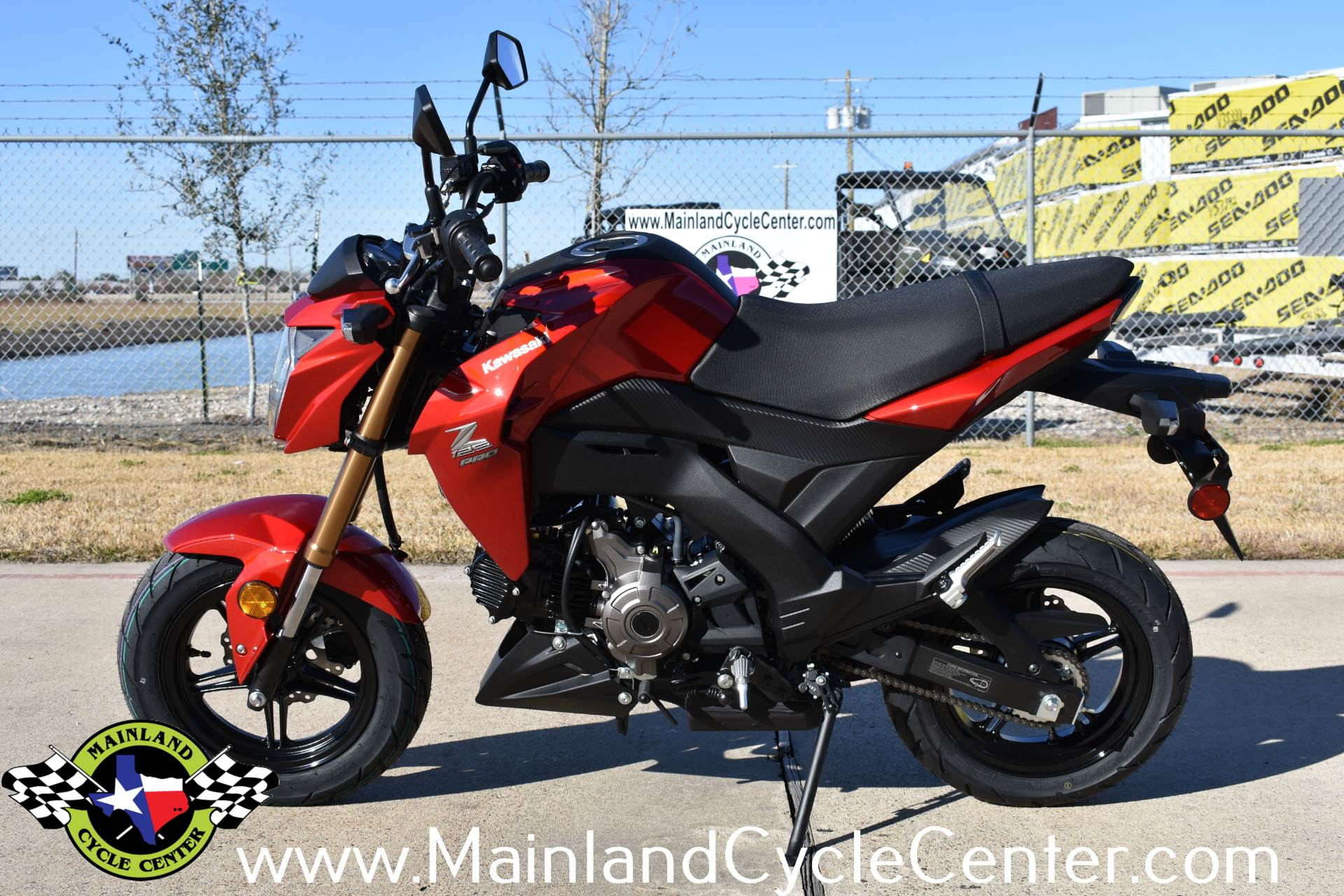 2018 Kawasaki Z125 Pro In La Marque Texas