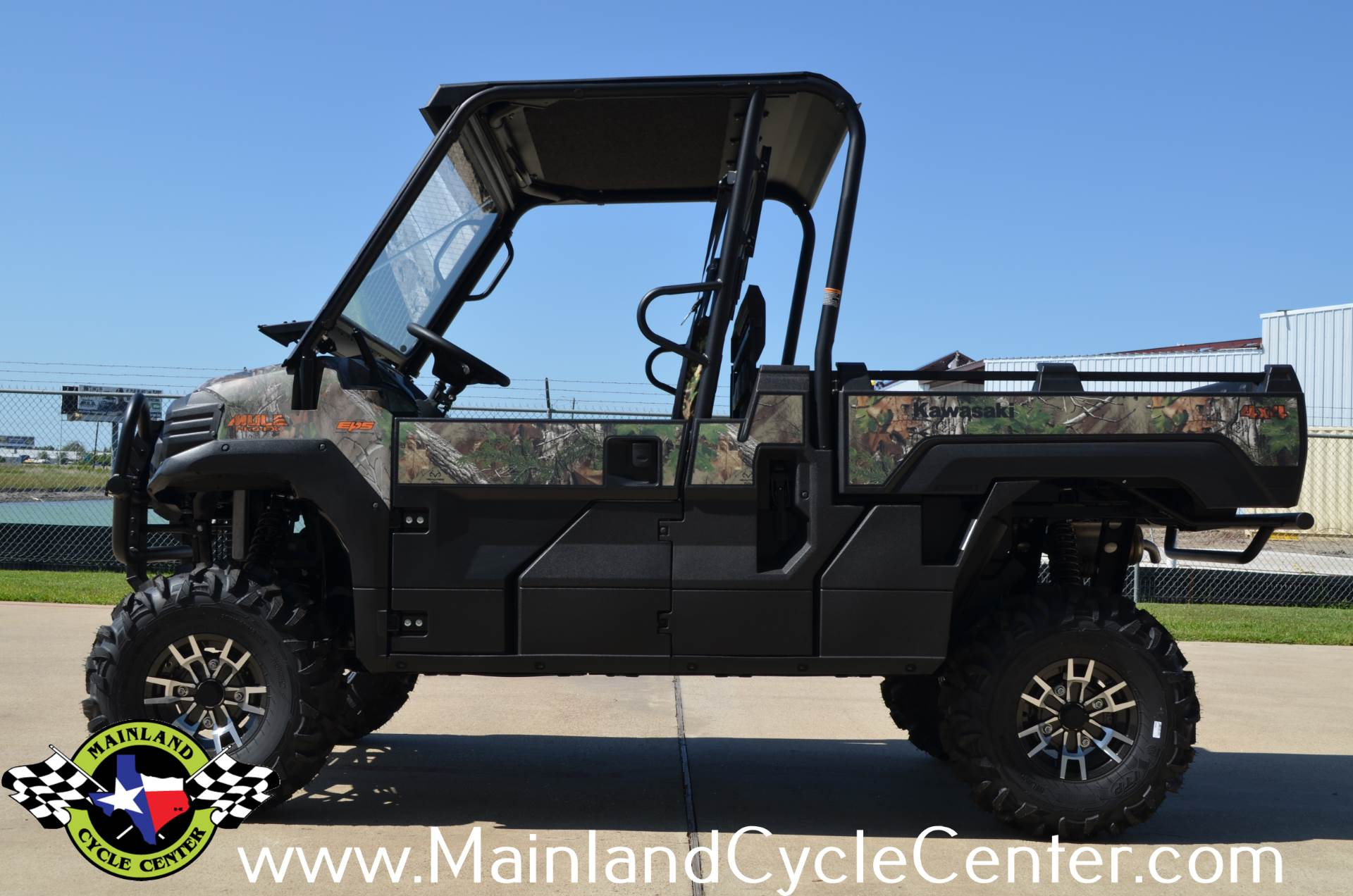 2016 Kawasaki Mule Pro-FX EPS Camo in La Marque, Texas - Photo 5