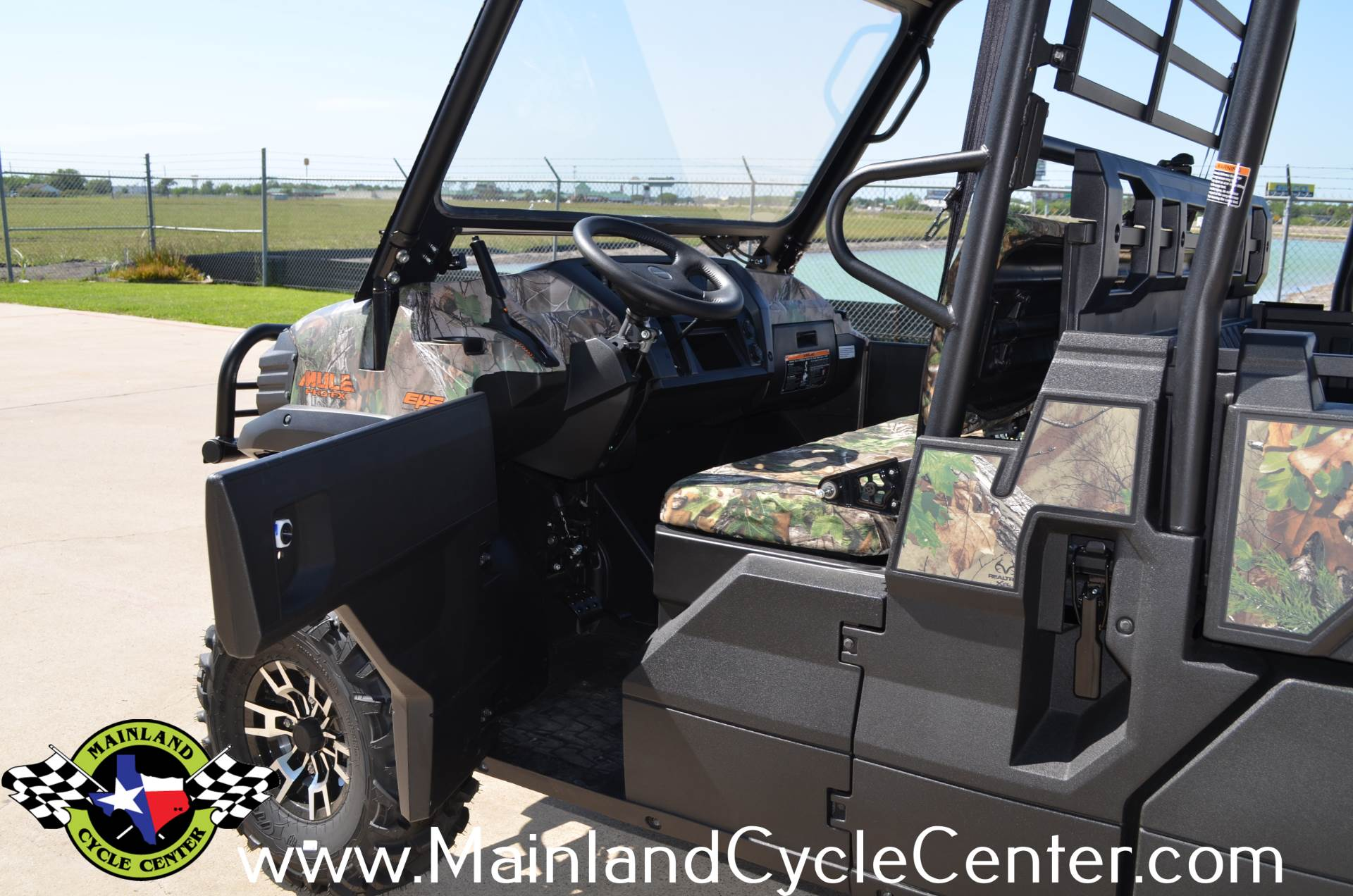 2016 Kawasaki Mule Pro-FX EPS Camo in La Marque, Texas - Photo 11