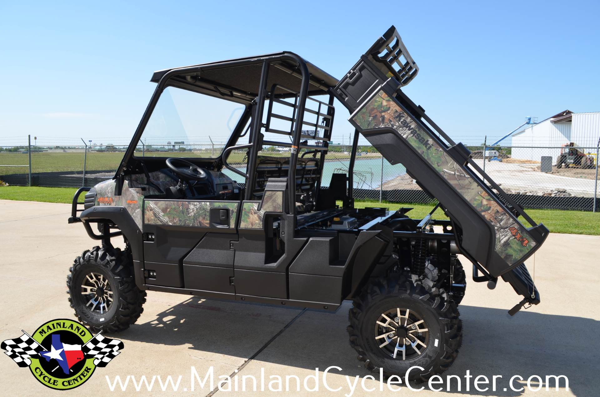 2016 Kawasaki Mule Pro-FX EPS Camo in La Marque, Texas - Photo 22