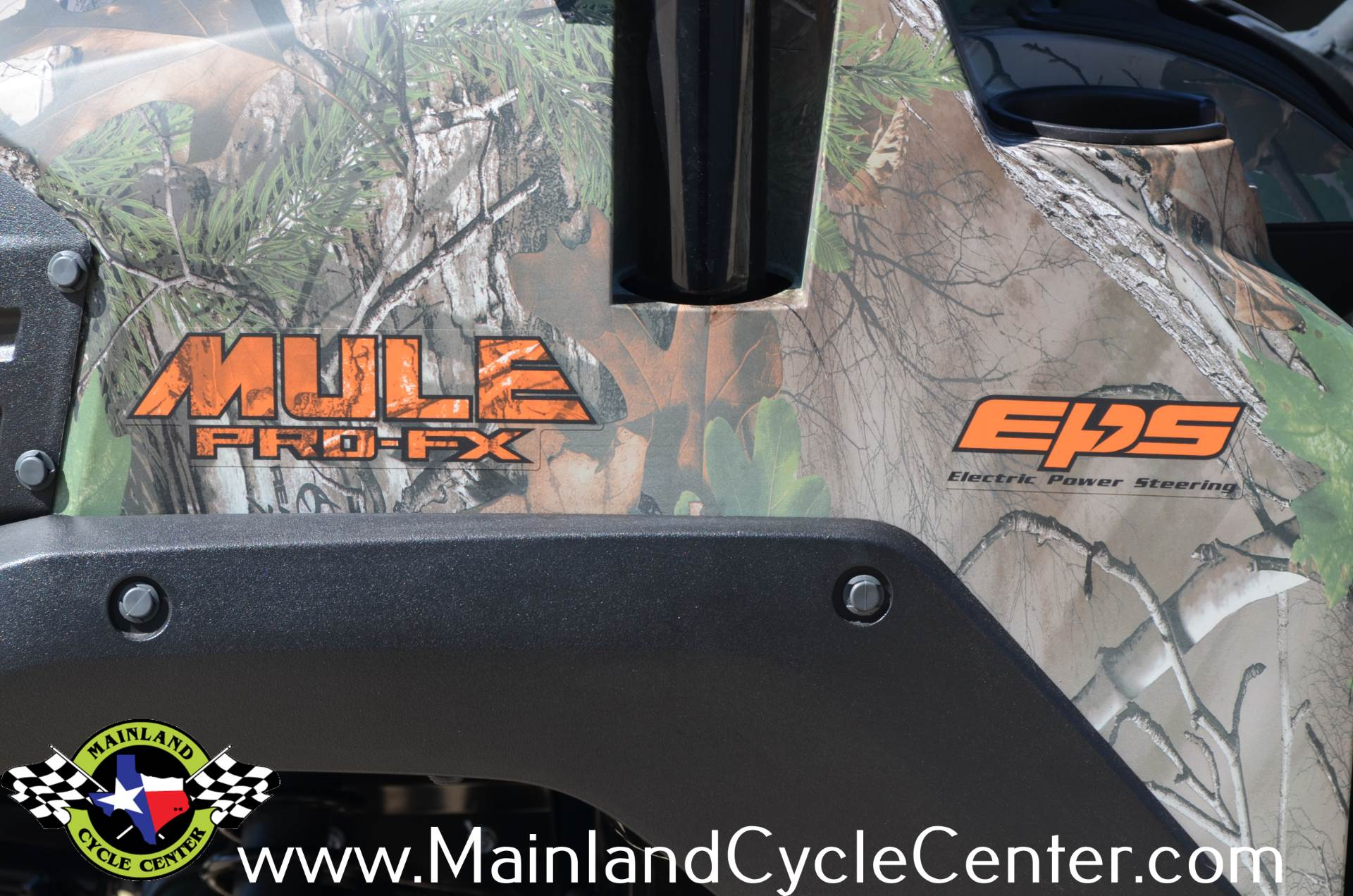 2016 Kawasaki Mule Pro-FX EPS Camo in La Marque, Texas - Photo 38