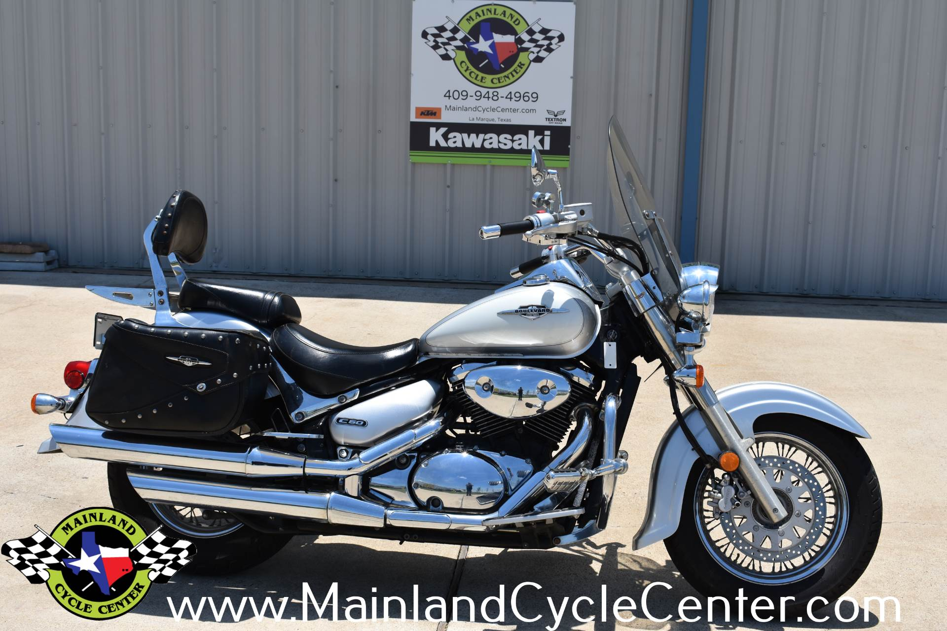 Used 2007 Suzuki Boulevard C50 White / Silver | Motorcycles in La ...