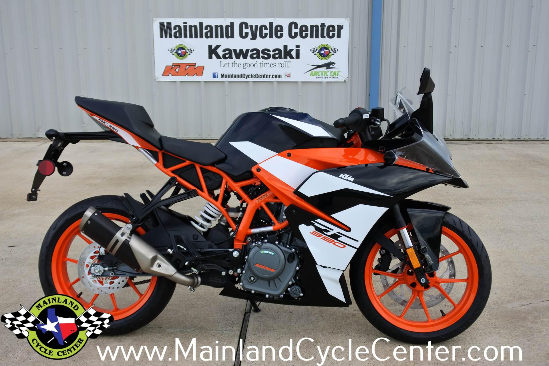New 2017 KTM RC 390 Orange / Black | Motorcycles in La Marque, TX ...
