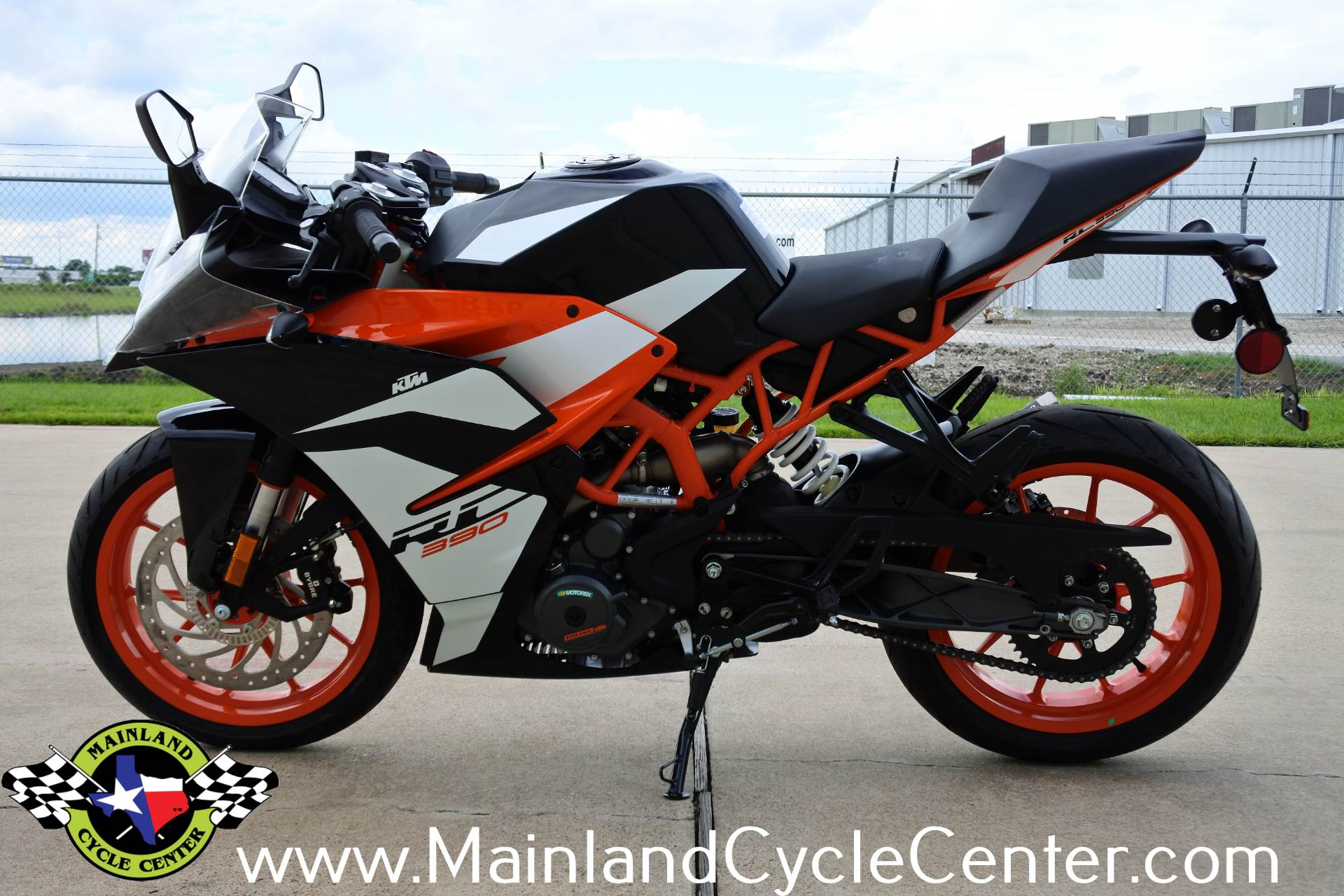 new 2018 ktm rc 390 orange black motorcycles in la. Black Bedroom Furniture Sets. Home Design Ideas