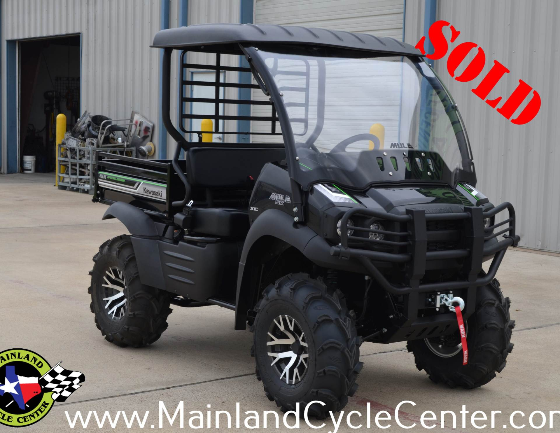 2017 Kawasaki Mule SX 4x4 XC SE in La Marque, Texas - Photo 1