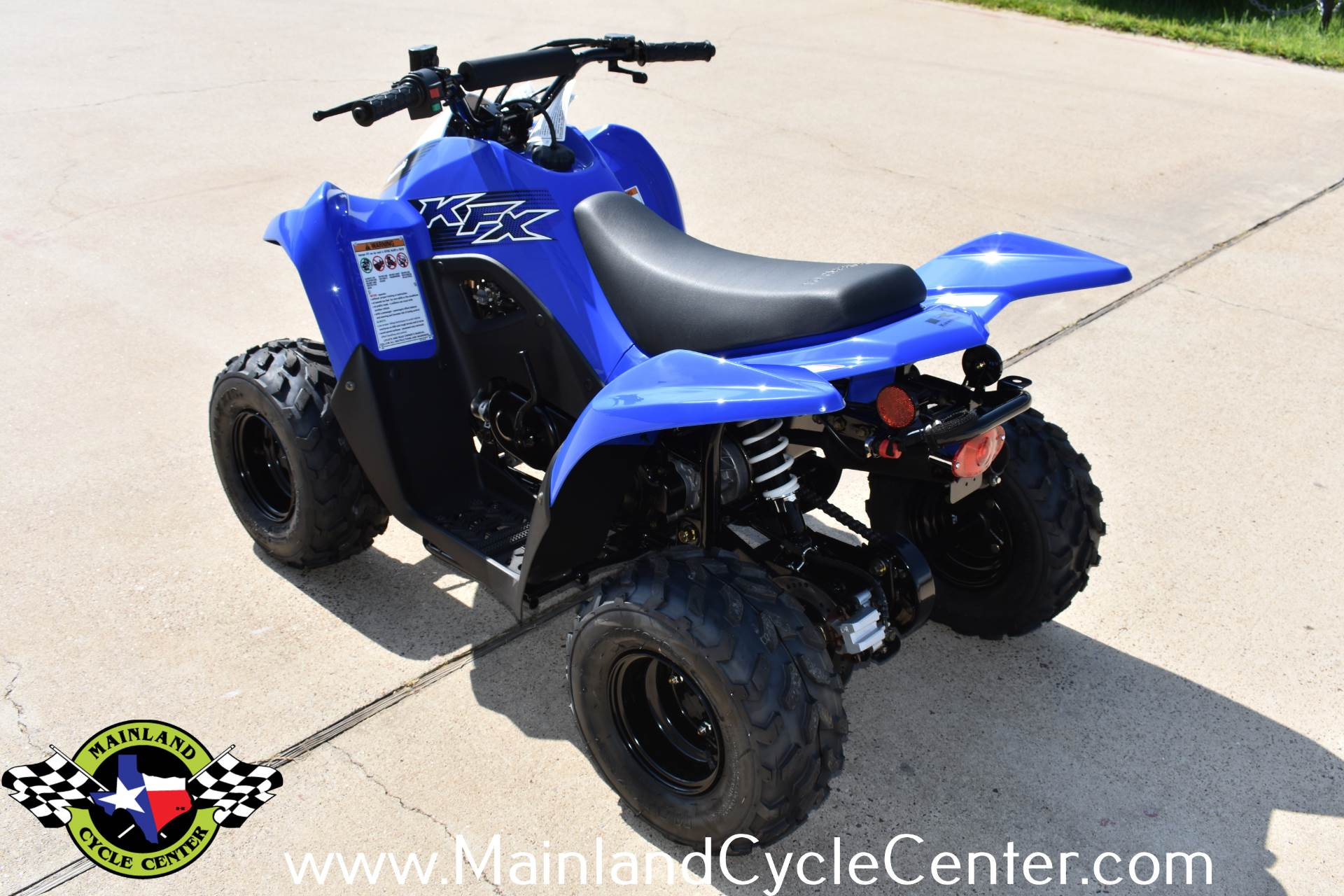 2020 Kawasaki KFX 50 in La Marque, Texas - Photo 6