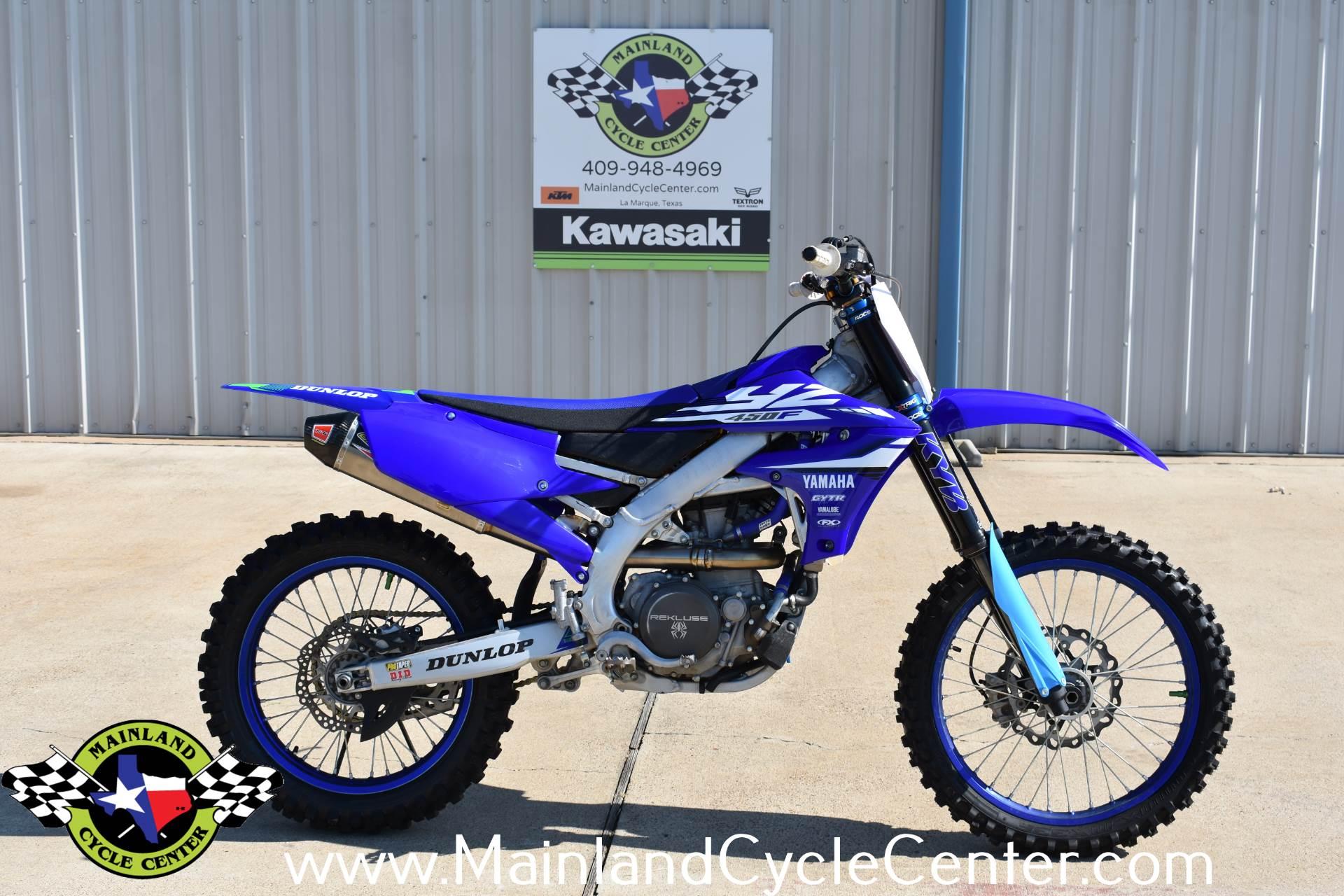 2018 Yamaha YZ450F in La Marque, Texas