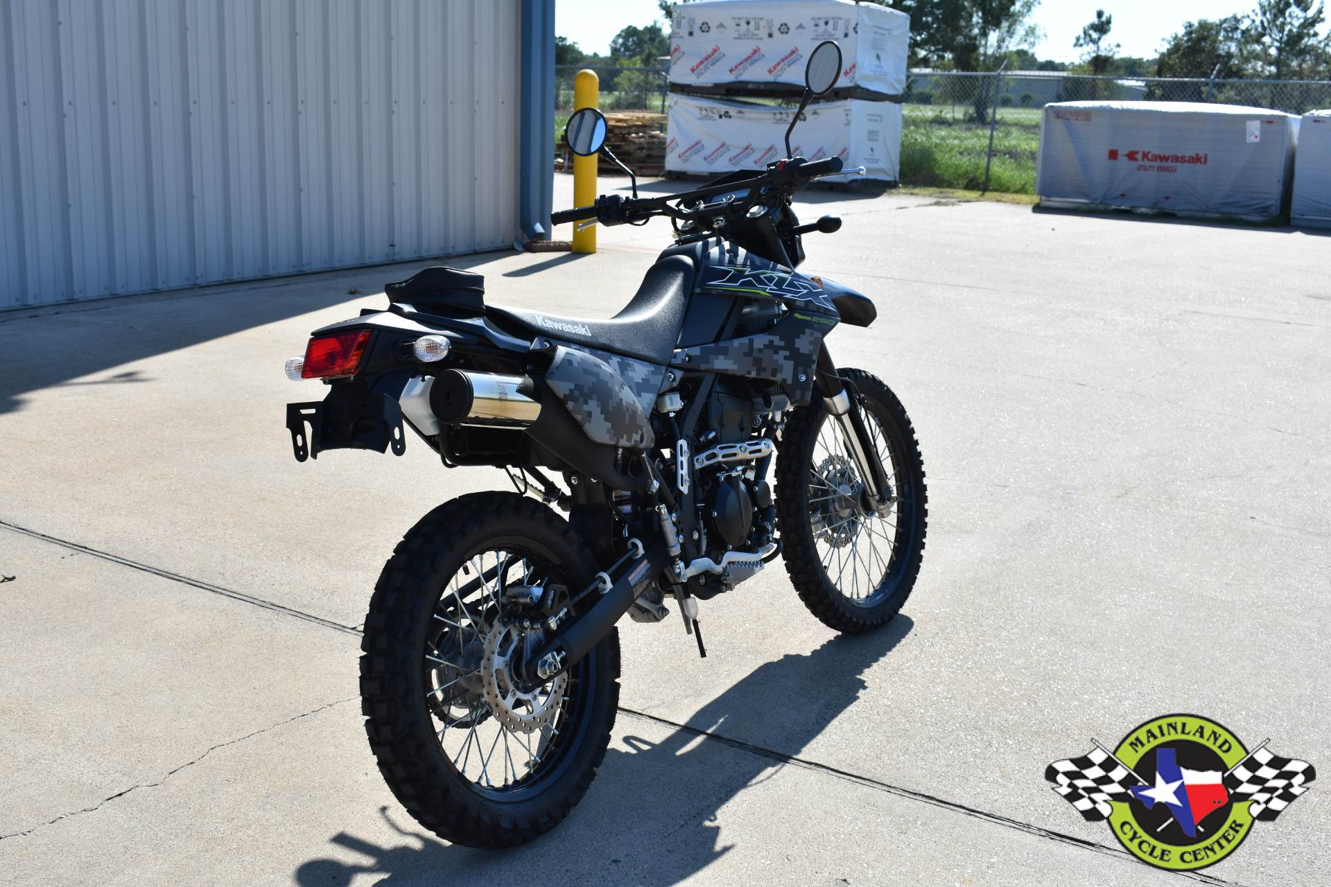 2019 Kawasaki KLX 250 Camo in La Marque, Texas - Photo 3