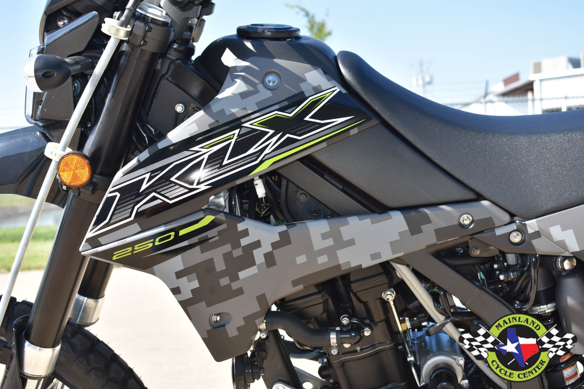 2019 Kawasaki KLX 250 Camo in La Marque, Texas - Photo 17