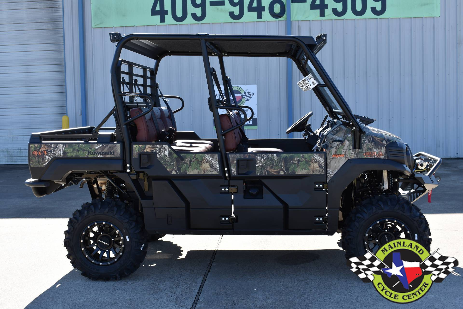 2021 Kawasaki Mule PRO-FXT EPS Camo in La Marque, Texas - Photo 4