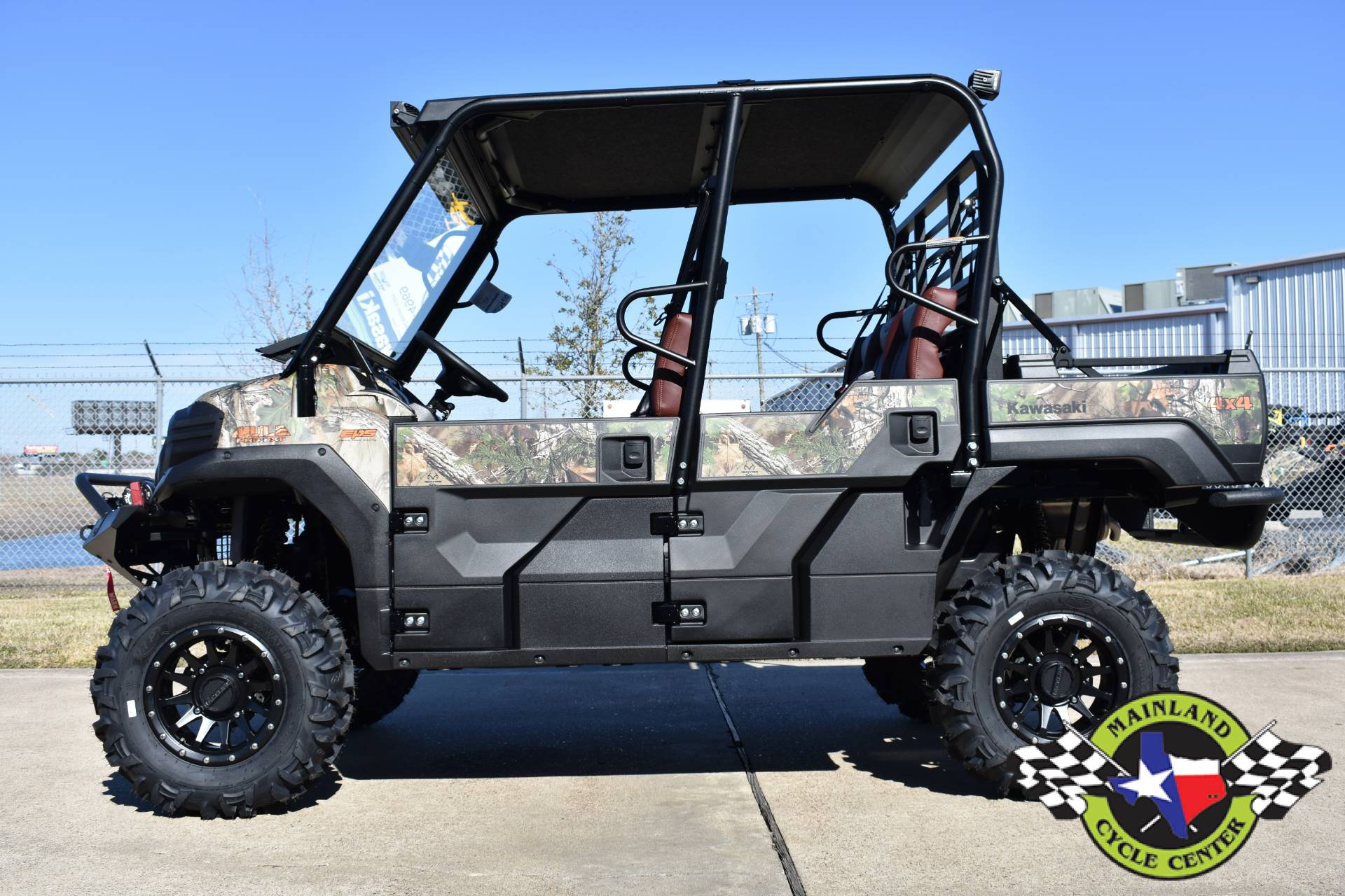 2021 Kawasaki Mule PRO-FXT EPS Camo in La Marque, Texas - Photo 7