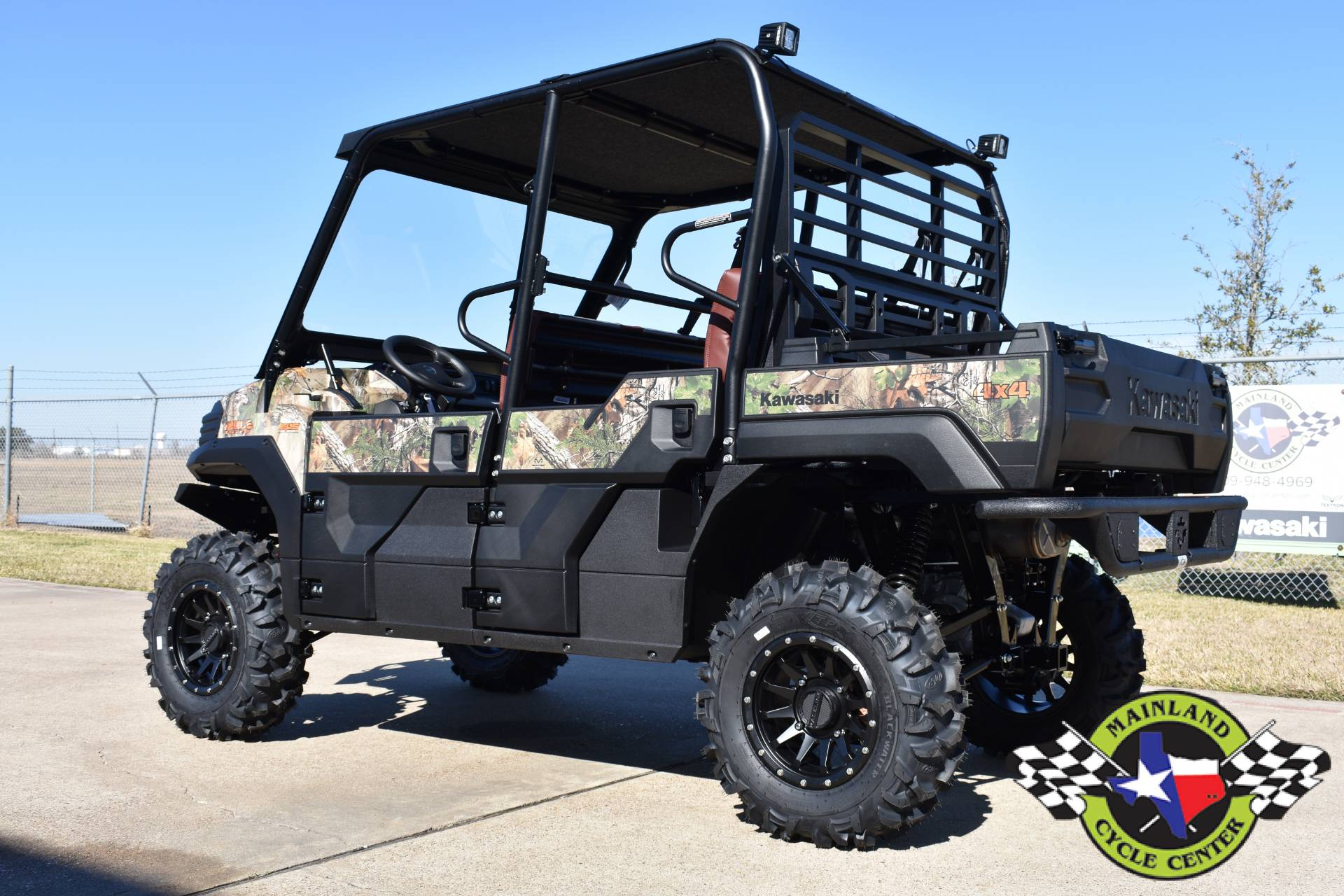 2021 Kawasaki Mule PRO-FXT EPS Camo in La Marque, Texas - Photo 8