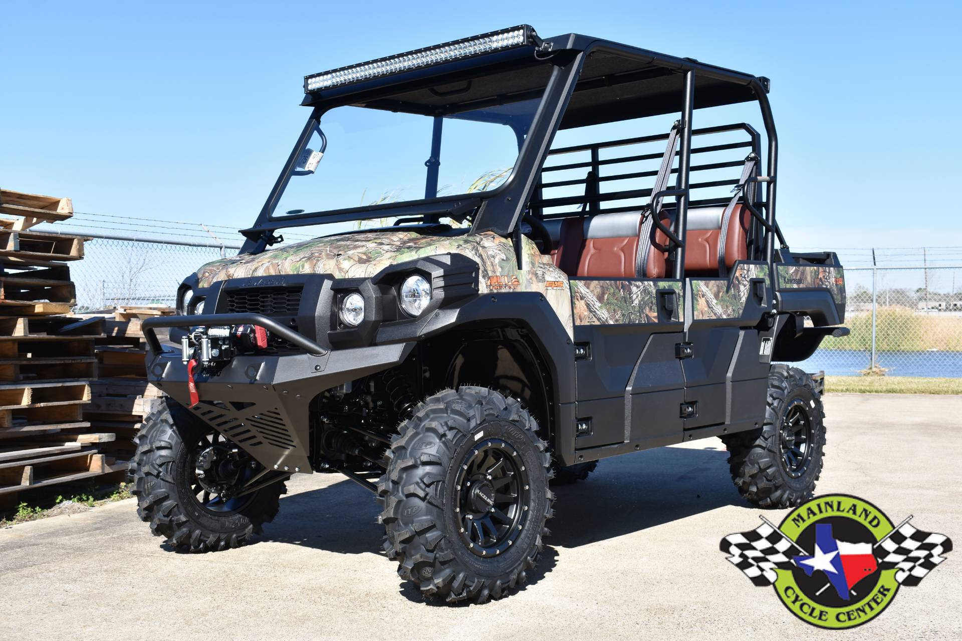 2021 Kawasaki Mule PRO-FXT EPS Camo in La Marque, Texas - Photo 3