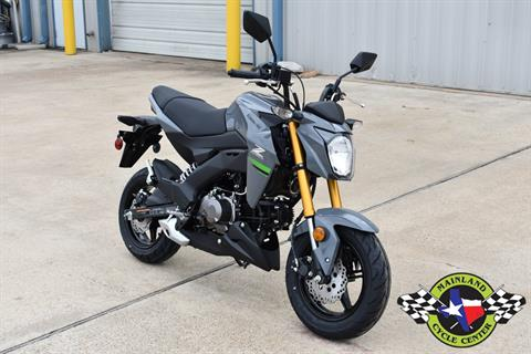 2020 Kawasaki Z125 Pro in La Marque, Texas - Photo 3
