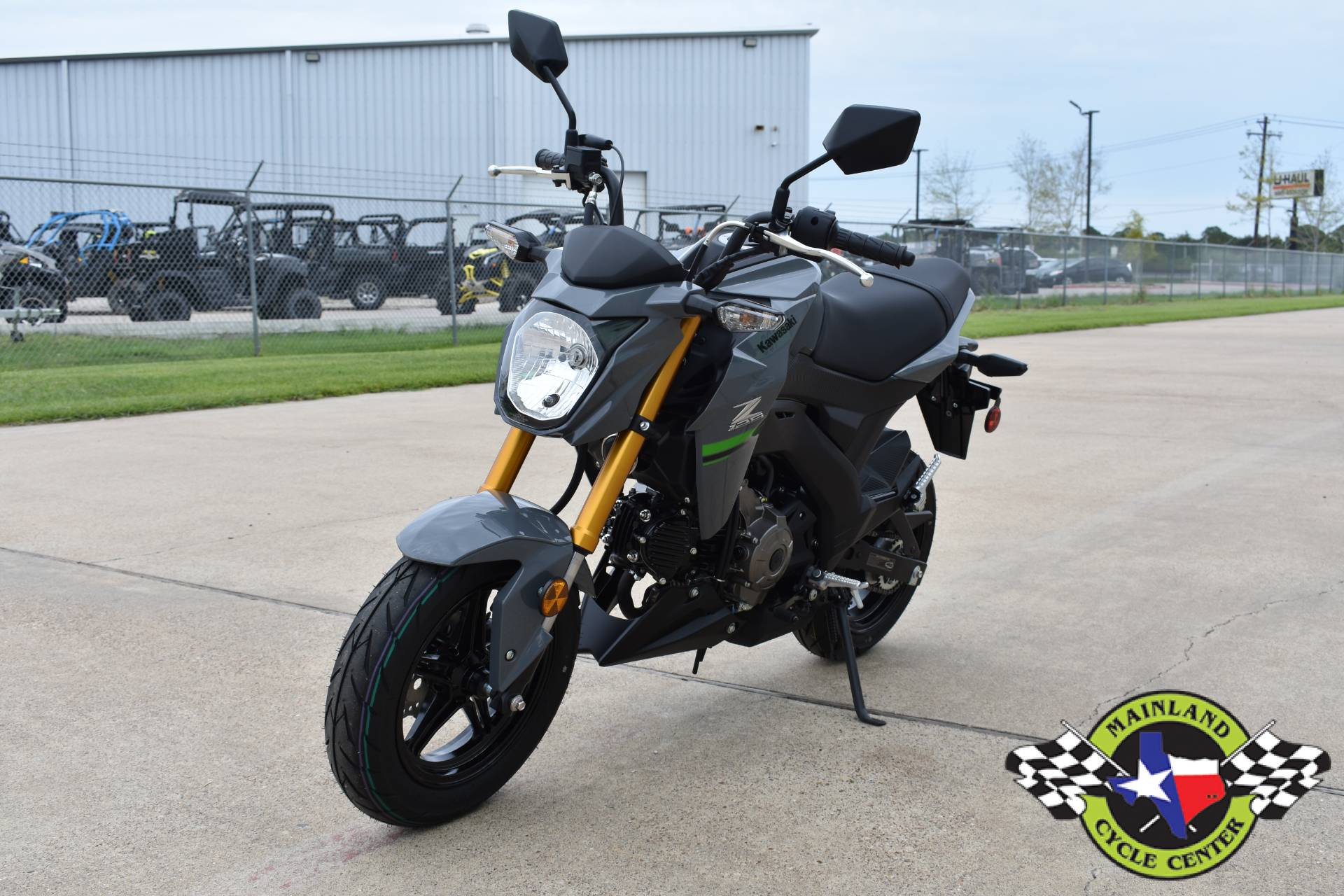 2020 Kawasaki Z125 Pro in La Marque, Texas - Photo 7