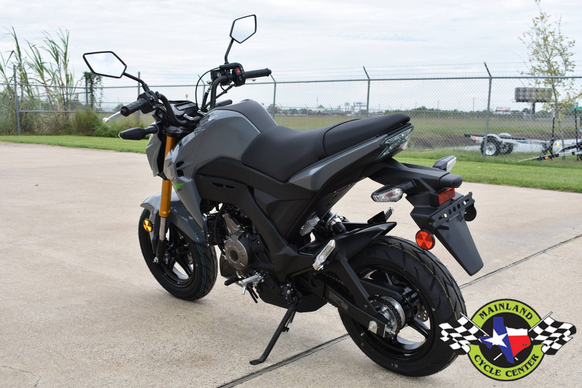 2020 Kawasaki Z125 Pro in La Marque, Texas - Photo 8