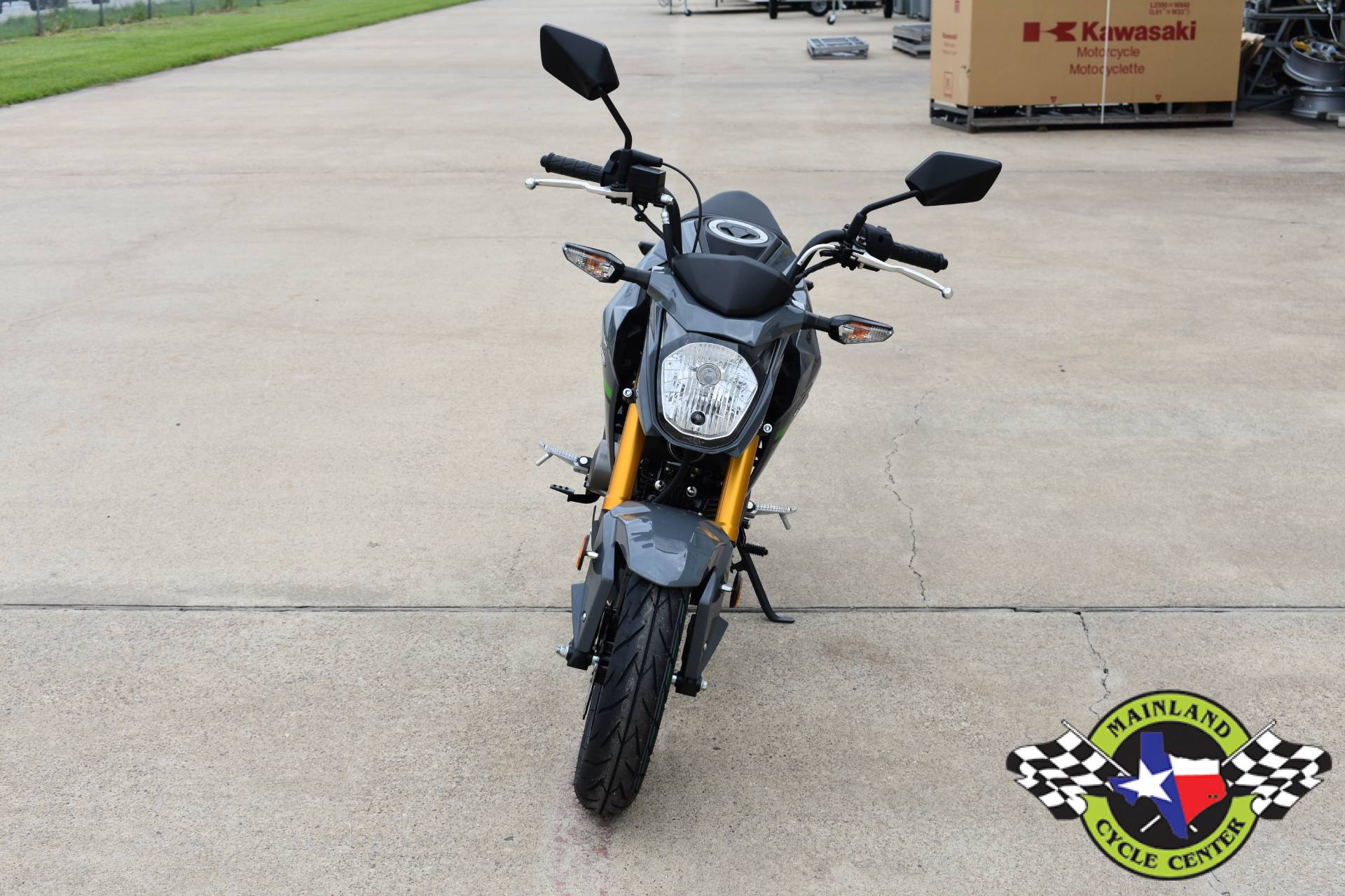 2020 Kawasaki Z125 Pro in La Marque, Texas - Photo 10