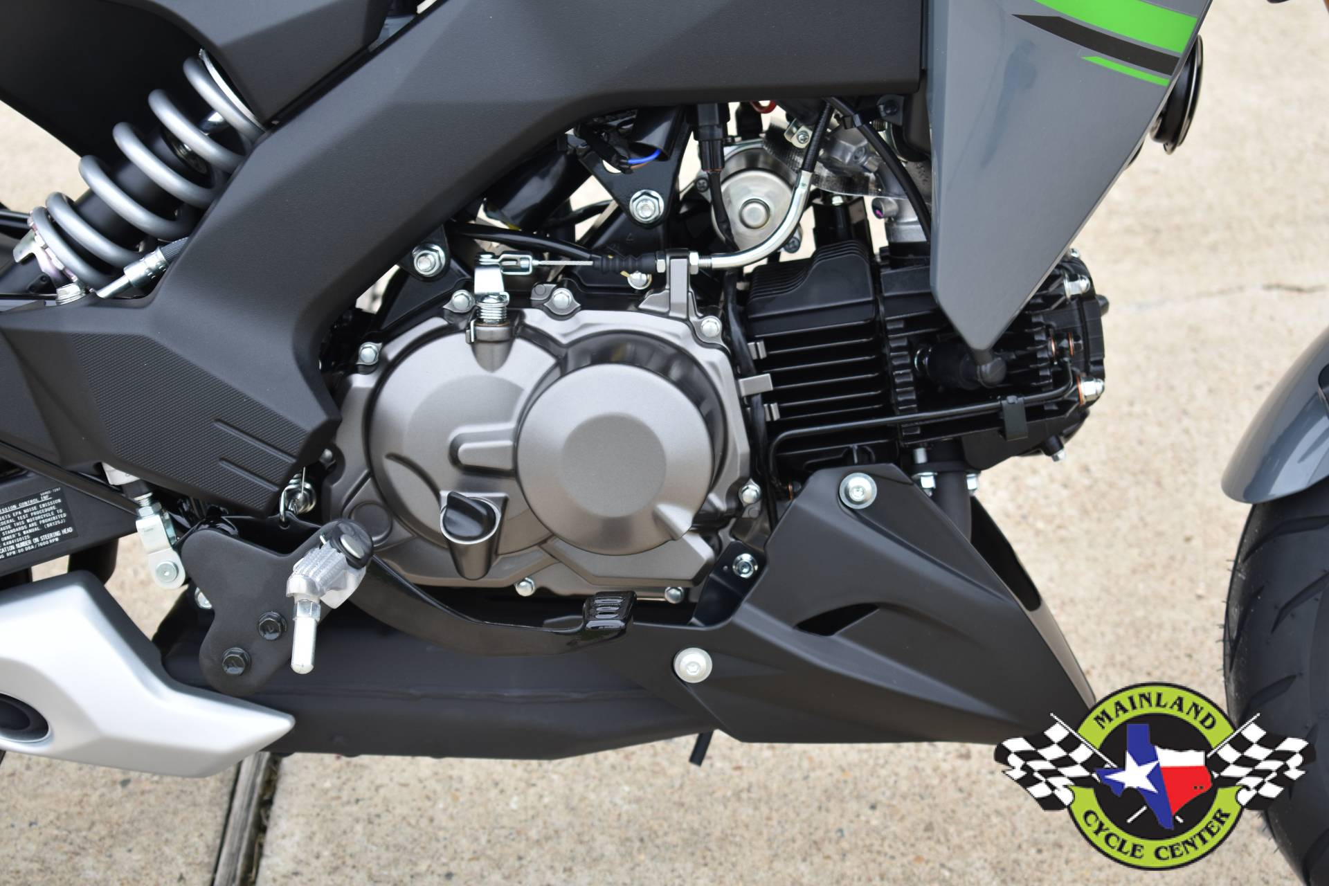 2020 Kawasaki Z125 Pro in La Marque, Texas - Photo 11