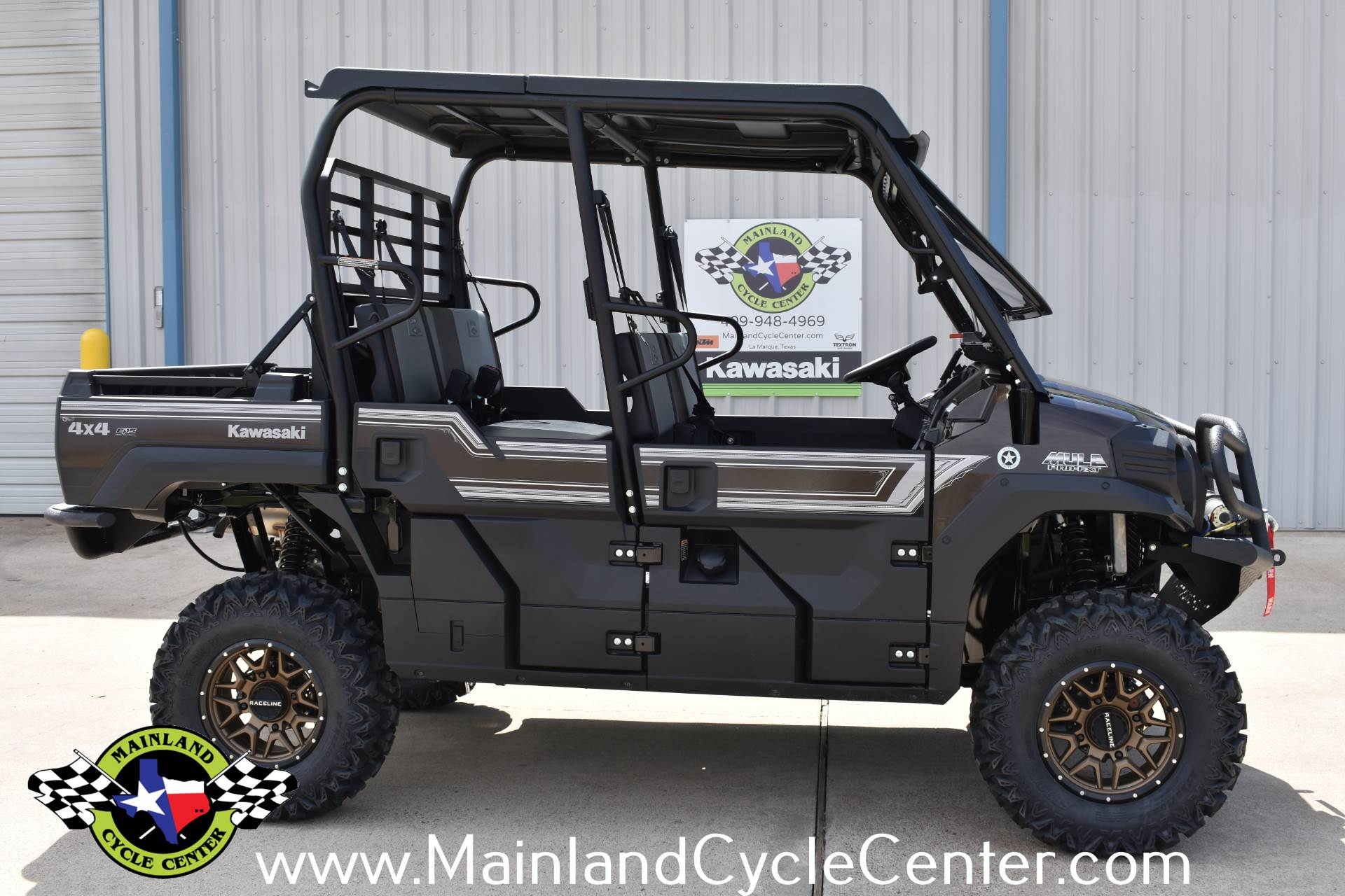 2019 Kawasaki Mule PRO-FXT Ranch Edition 1