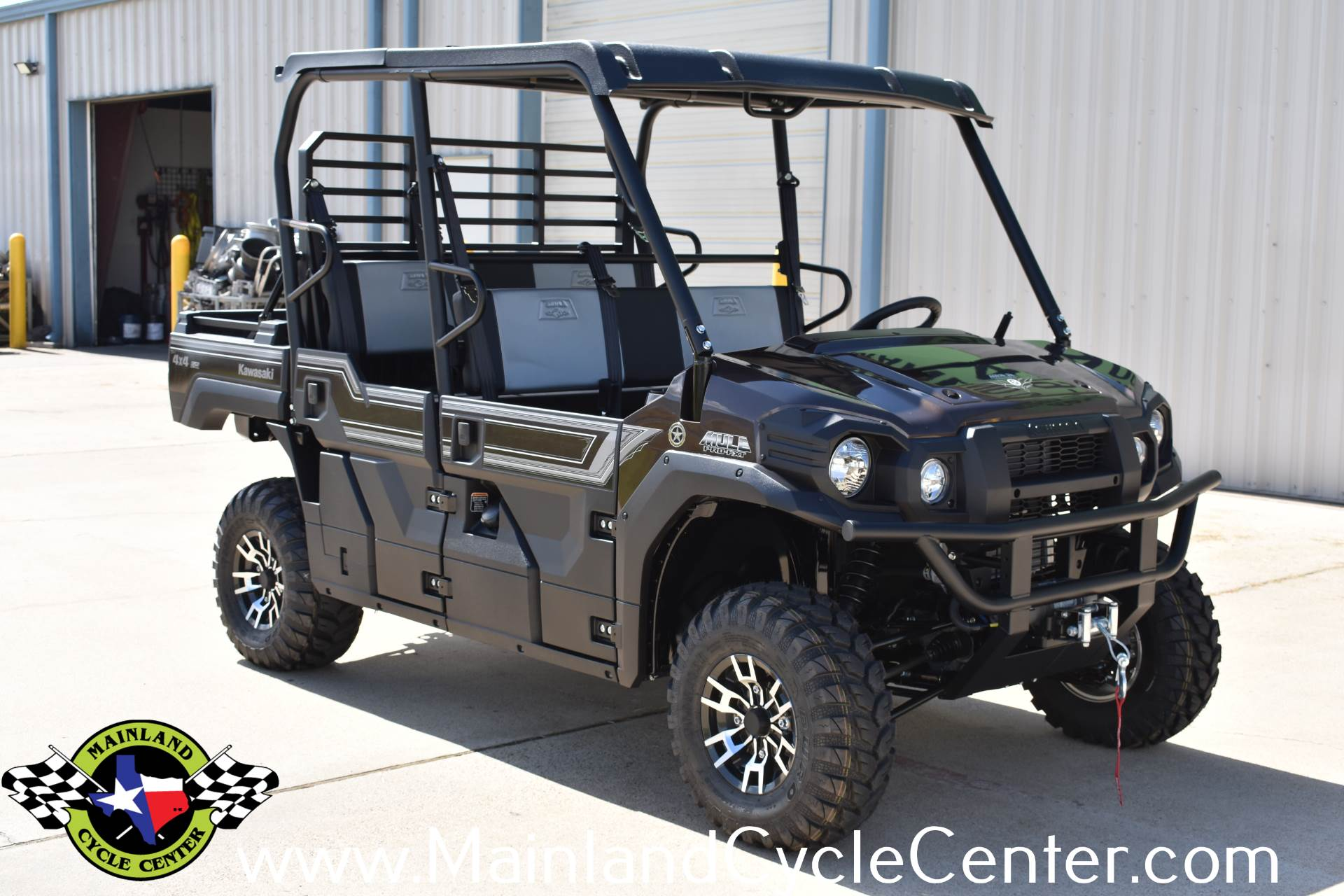 2019 Kawasaki Mule PRO-FXT Ranch Edition 3