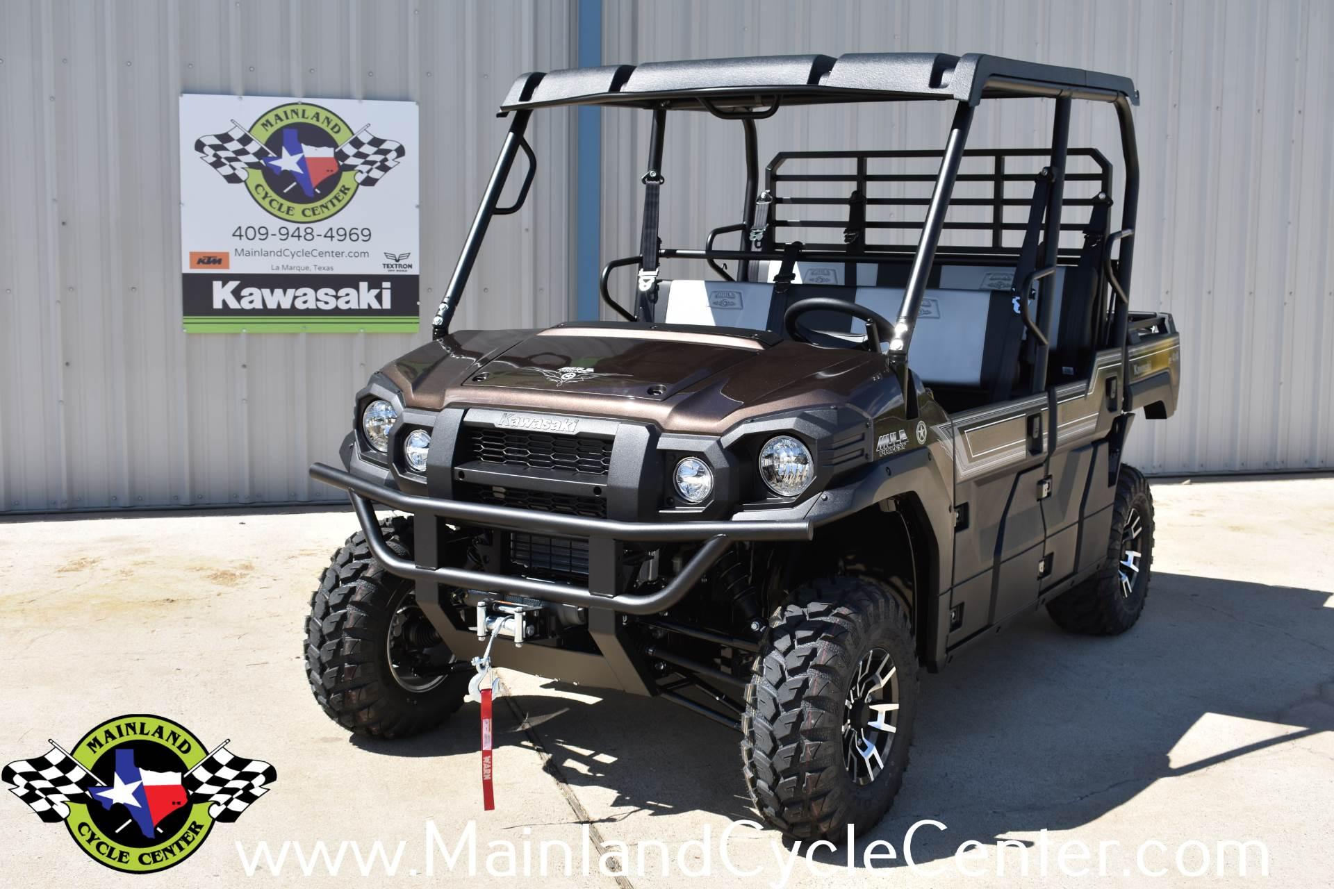 2019 Kawasaki Mule PRO-FXT Ranch Edition 1