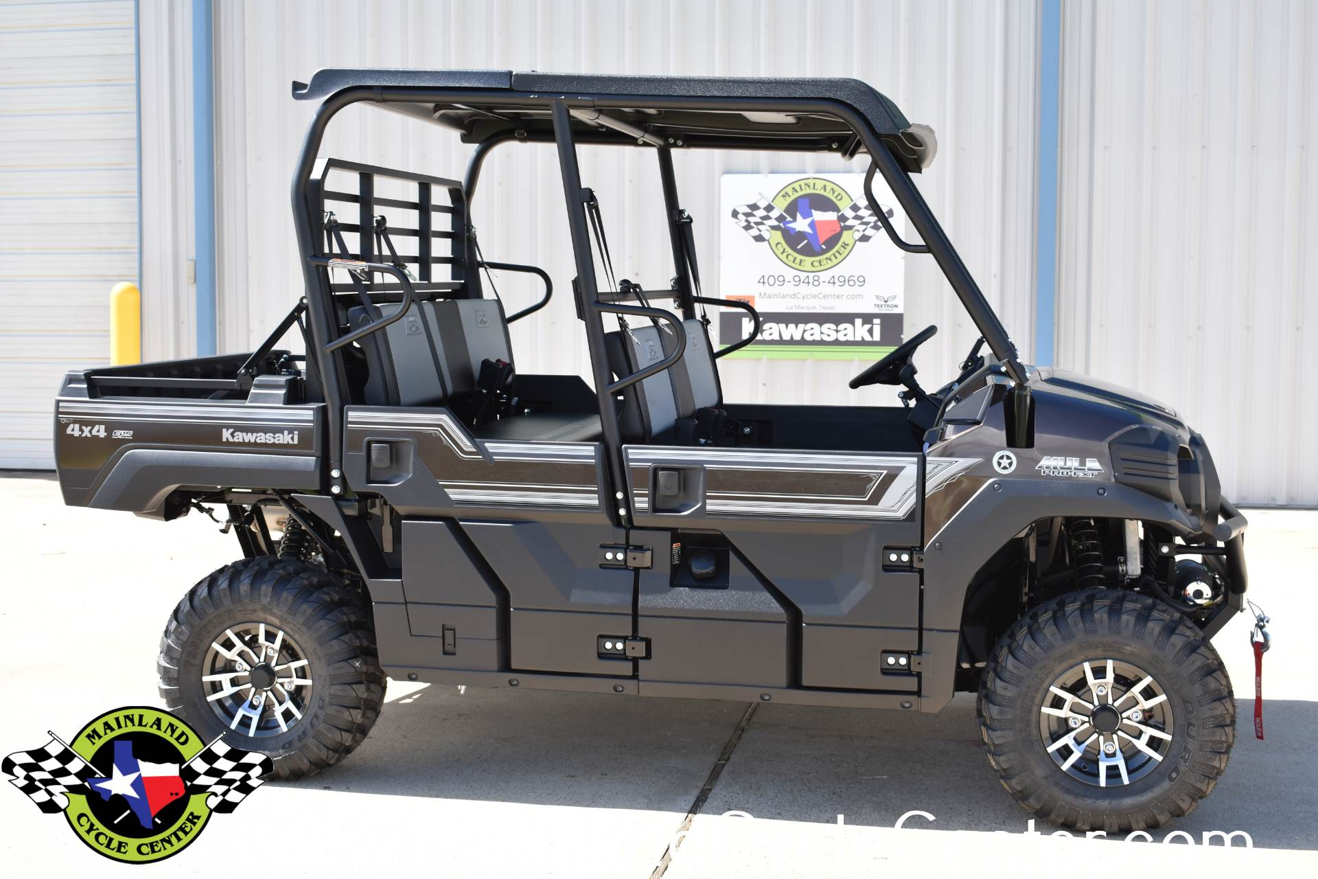 2019 Kawasaki Mule PRO-FXT Ranch Edition 2