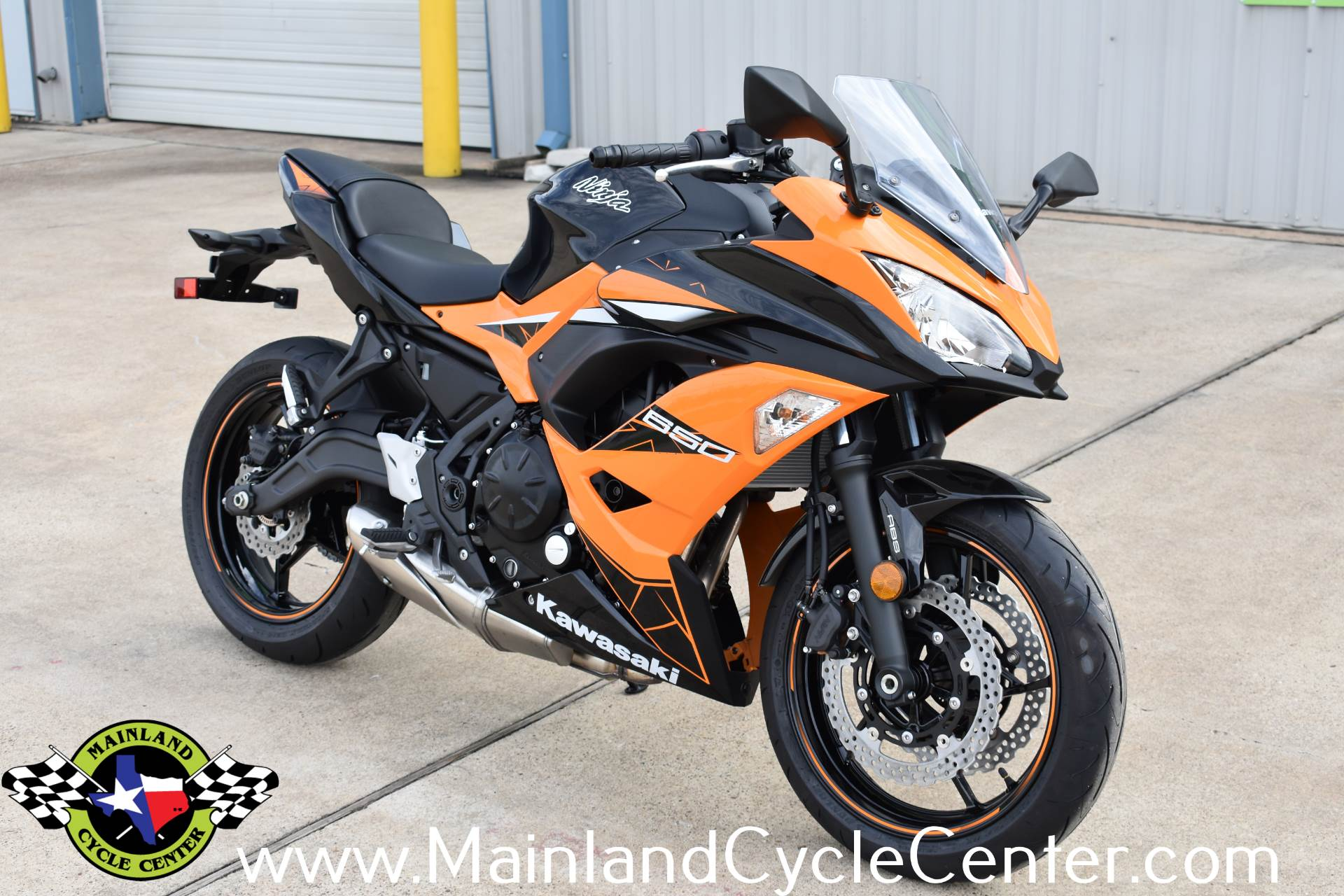 New 2019 Kawasaki Ninja 650 Abs Candy Steel Furnace Orange