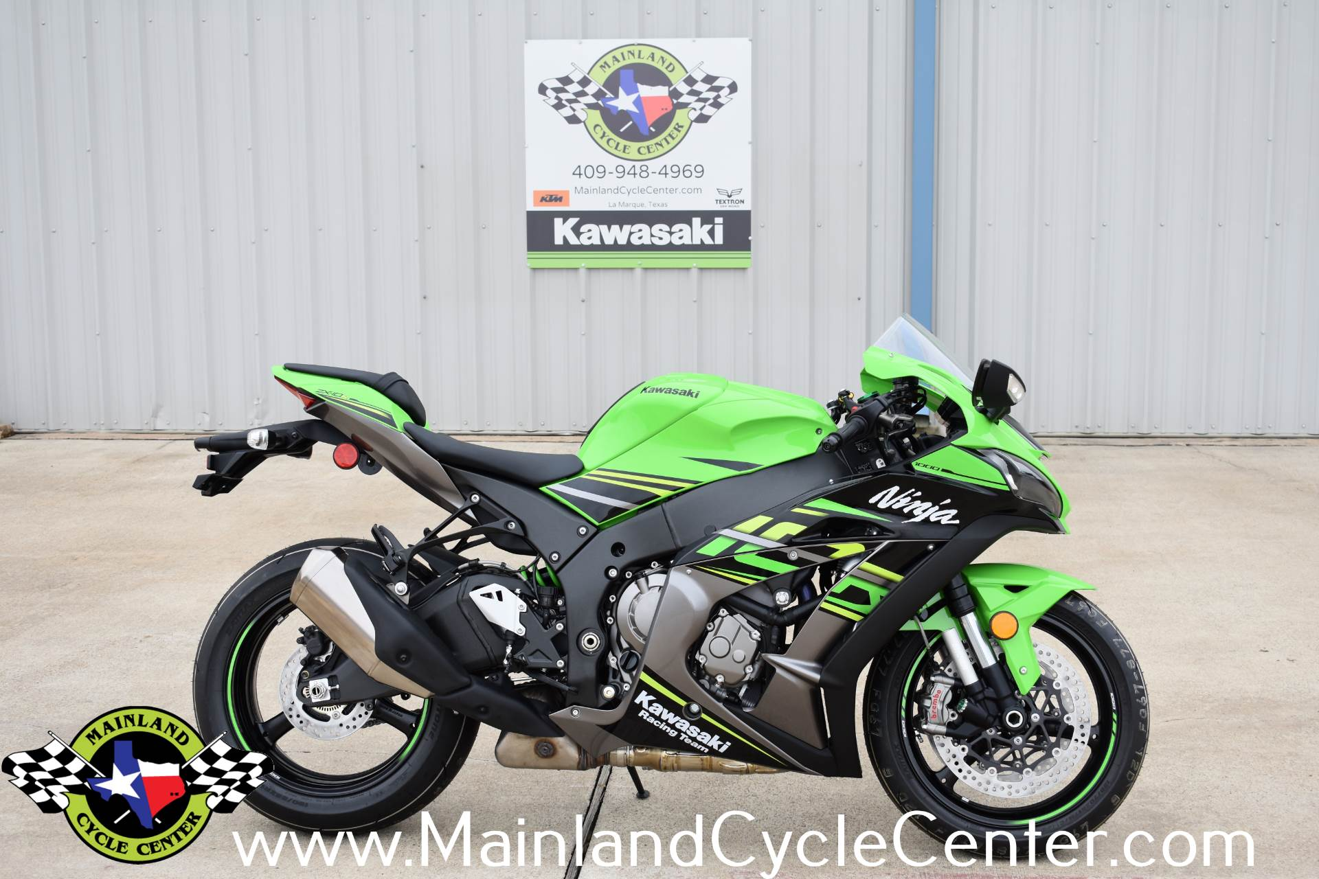 New 2018 Kawasaki Ninja Zx 10r Abs Krt Edition Lime Green Ebony