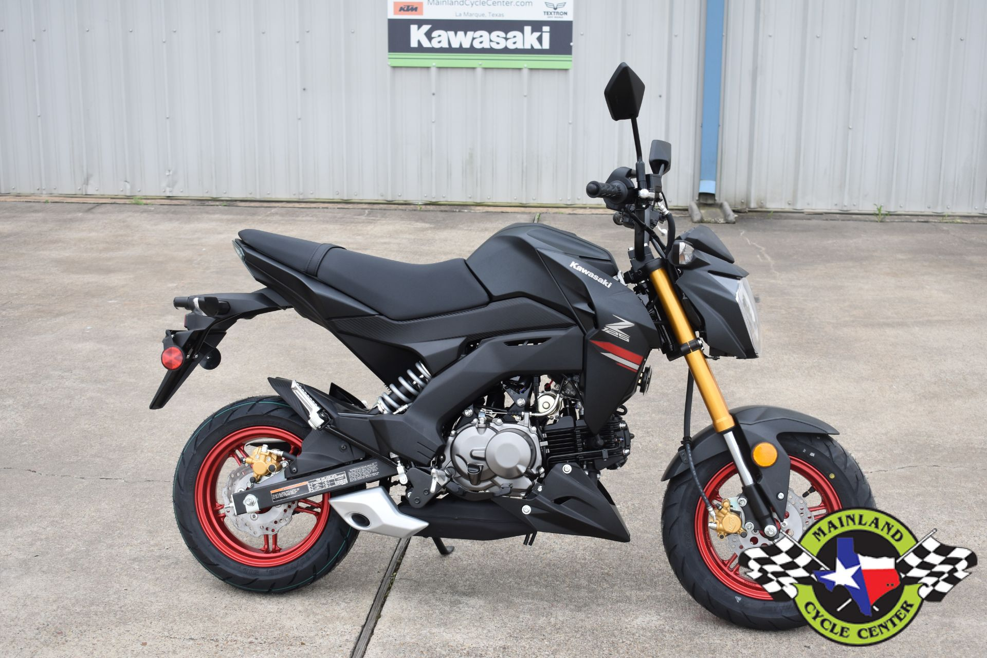 2021 Kawasaki Z125 Pro in La Marque, Texas - Photo 1