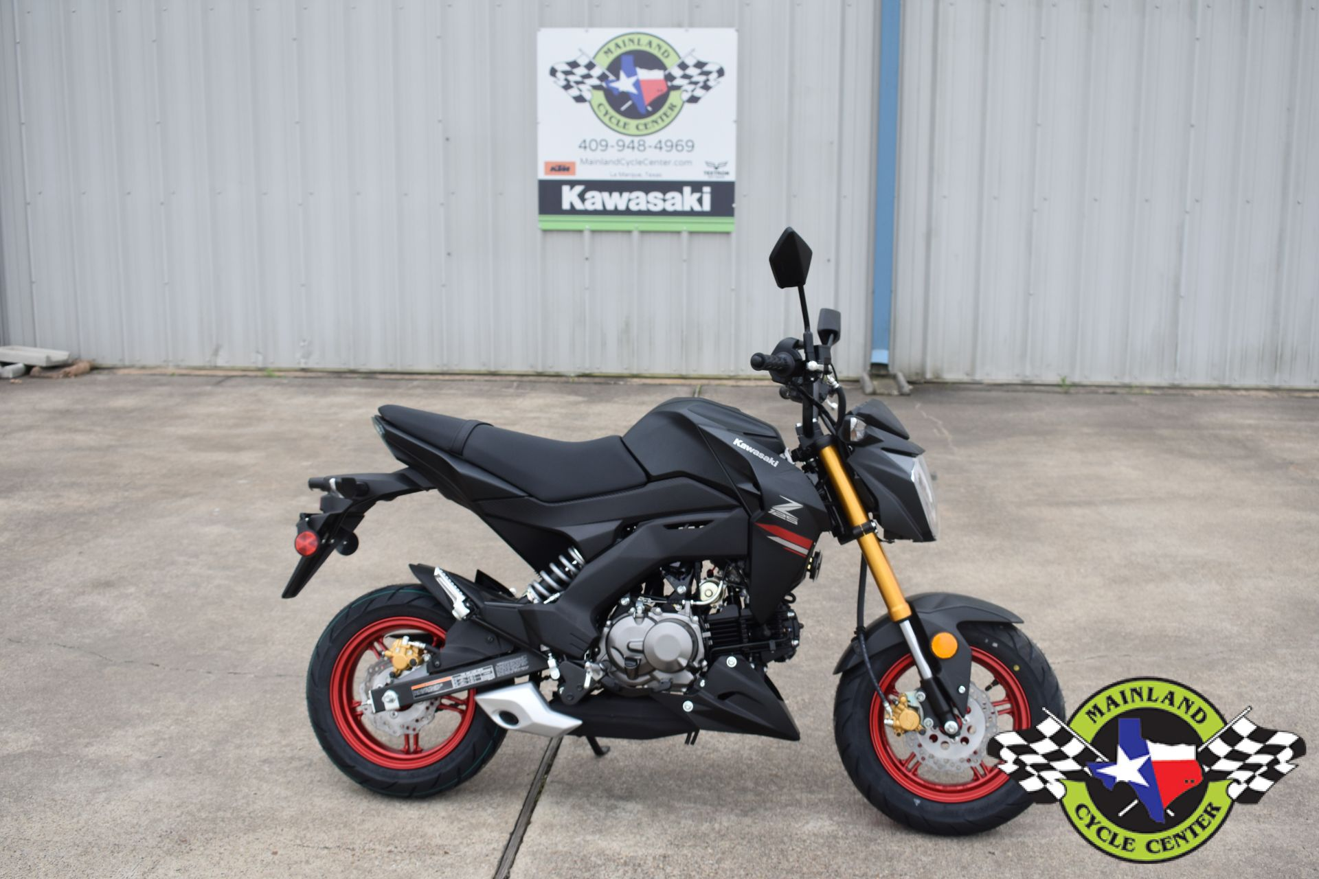 2021 Kawasaki Z125 Pro in La Marque, Texas - Photo 2