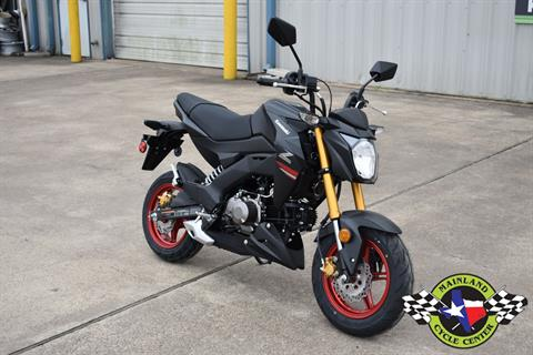 2021 Kawasaki Z125 Pro in La Marque, Texas - Photo 3