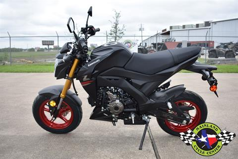2021 Kawasaki Z125 Pro in La Marque, Texas - Photo 5