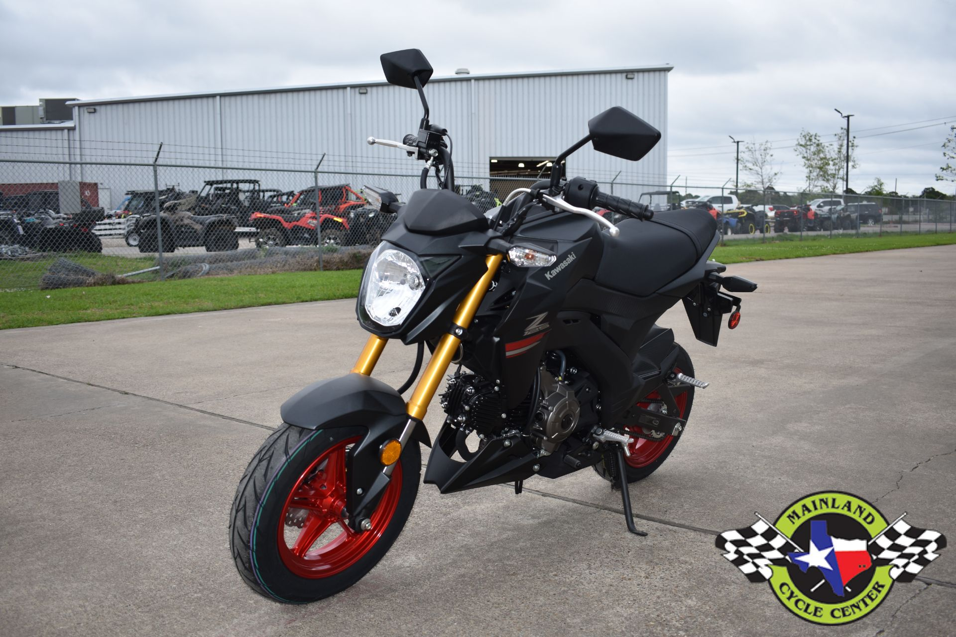 2021 Kawasaki Z125 Pro in La Marque, Texas - Photo 6