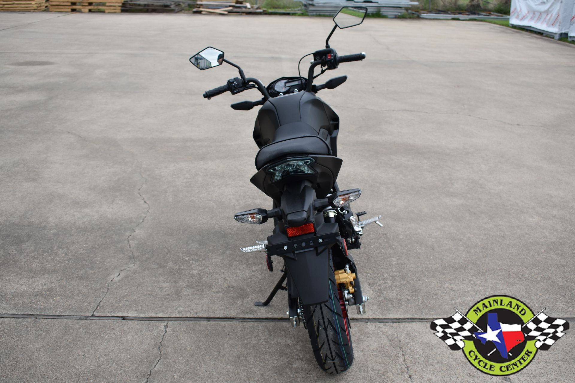 2021 Kawasaki Z125 Pro in La Marque, Texas - Photo 8