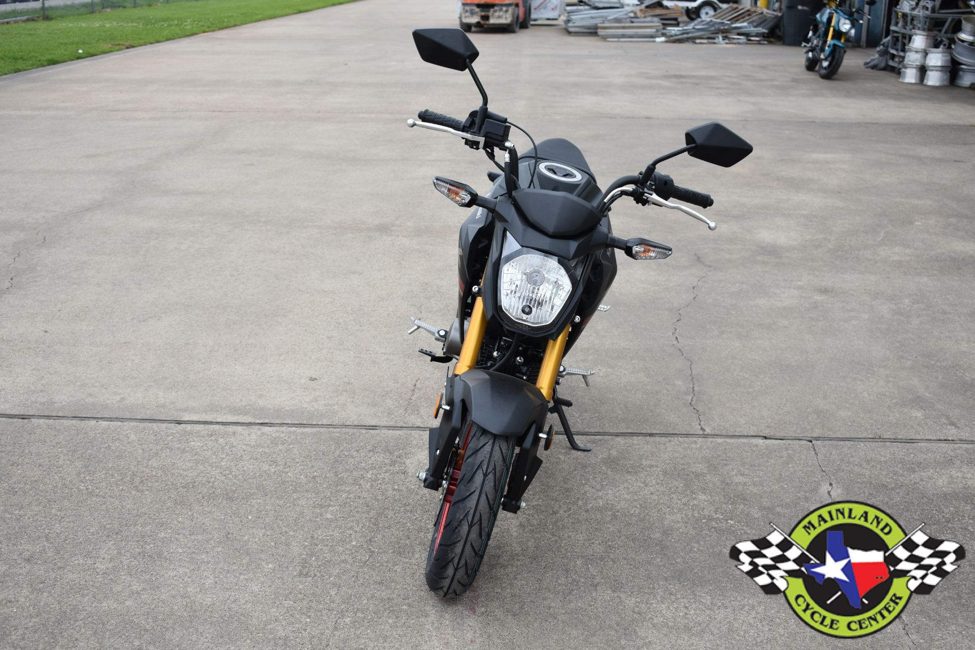 2021 Kawasaki Z125 Pro in La Marque, Texas - Photo 9