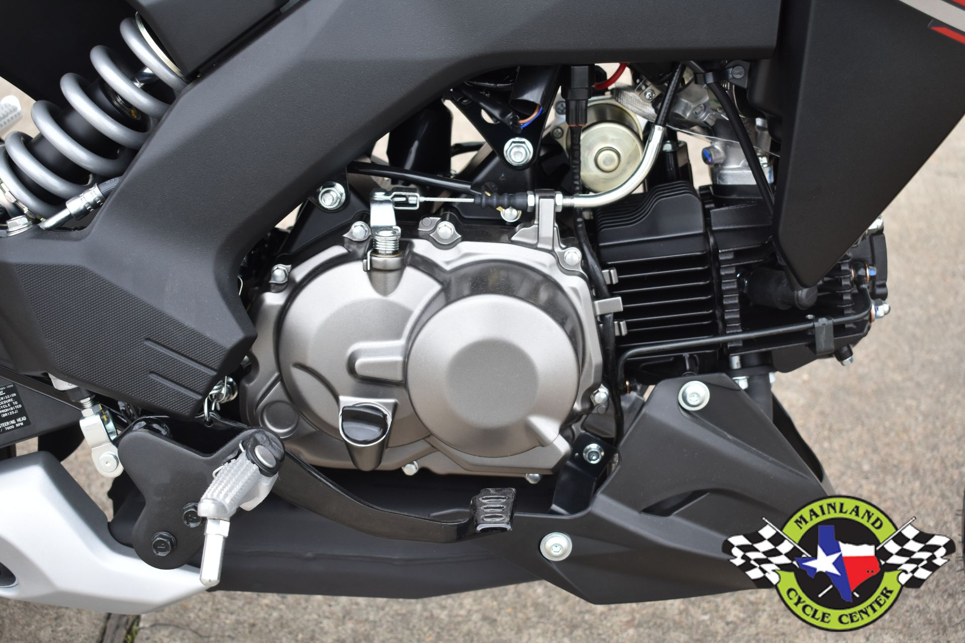 2021 Kawasaki Z125 Pro in La Marque, Texas - Photo 10