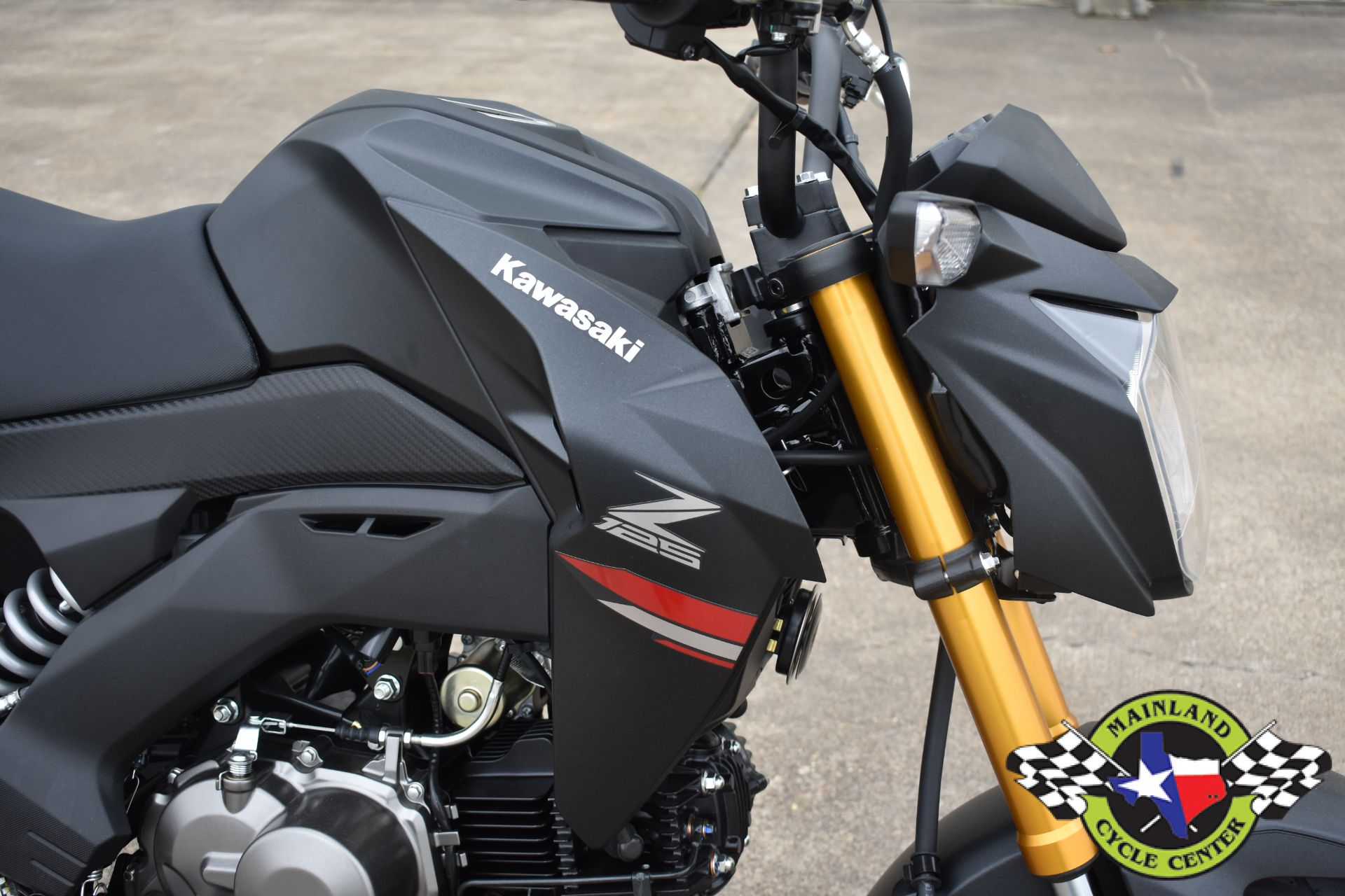 2021 Kawasaki Z125 Pro in La Marque, Texas - Photo 11