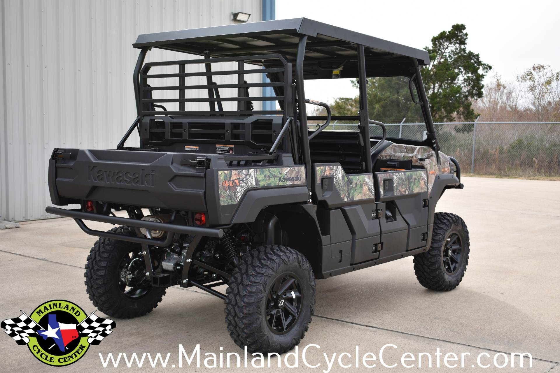 2018 Kawasaki Mule PRO-FXT EPS Camo in La Marque, Texas - Photo 4