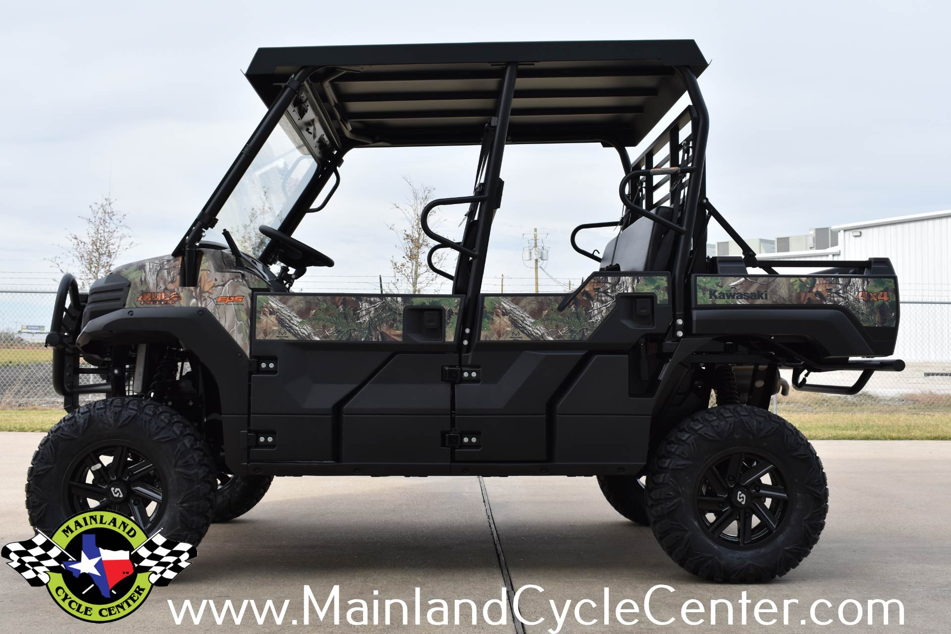 2018 Kawasaki Mule PRO-FXT EPS Camo in La Marque, Texas - Photo 5