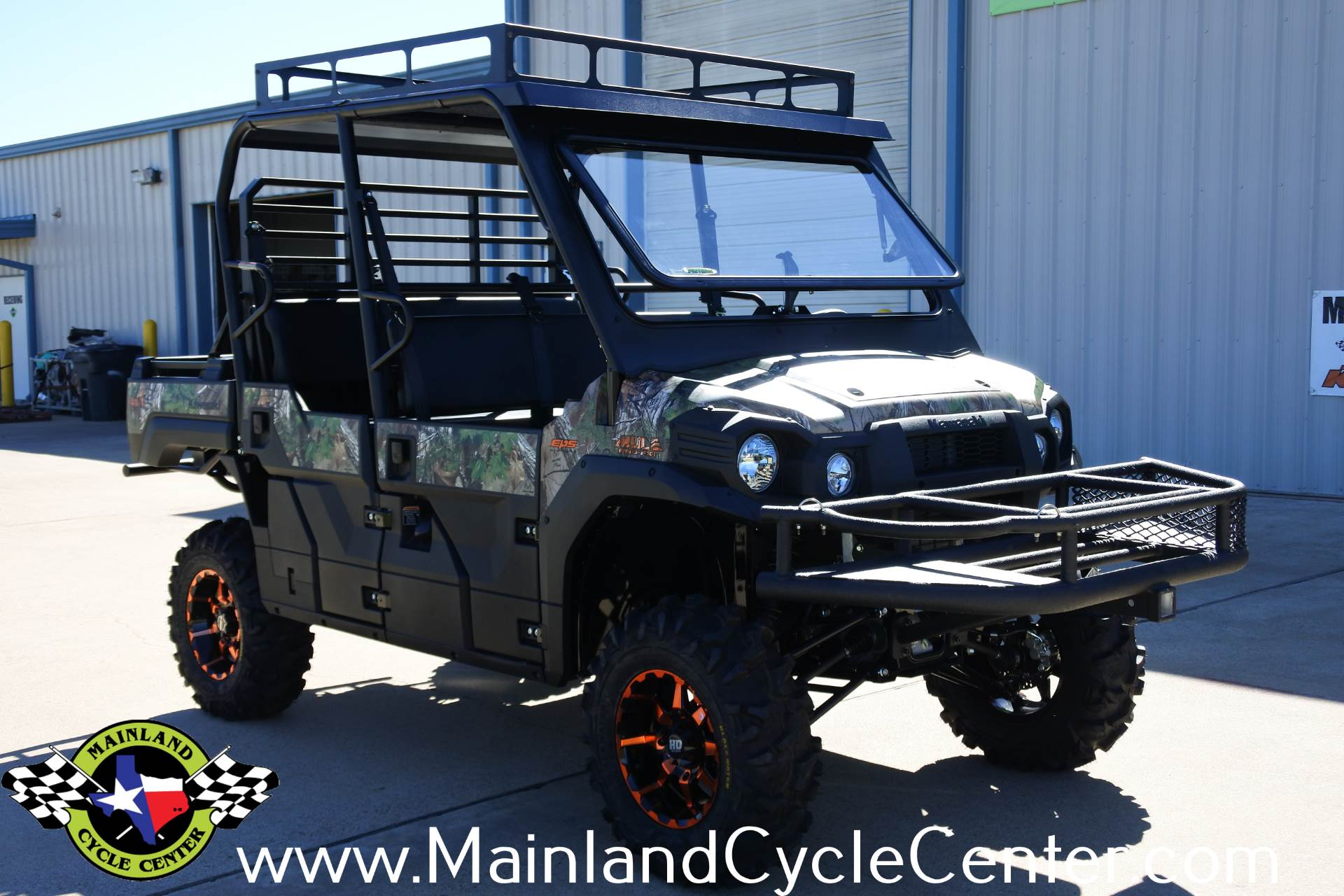 2018 Kawasaki Mule PRO-FXT EPS Camo in La Marque, Texas - Photo 3