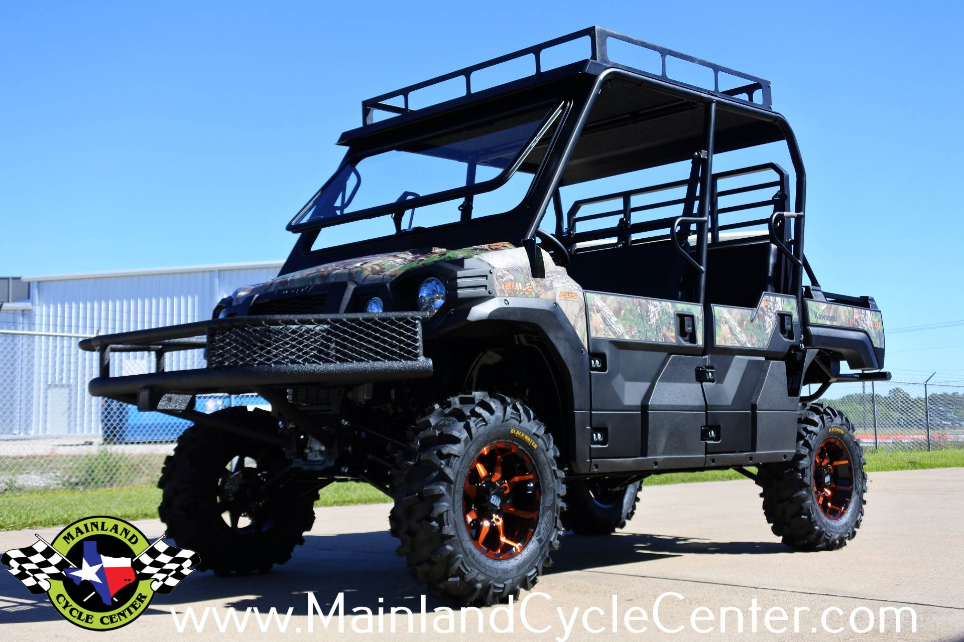 2018 Kawasaki Mule PRO-FXT EPS Camo in La Marque, Texas - Photo 6