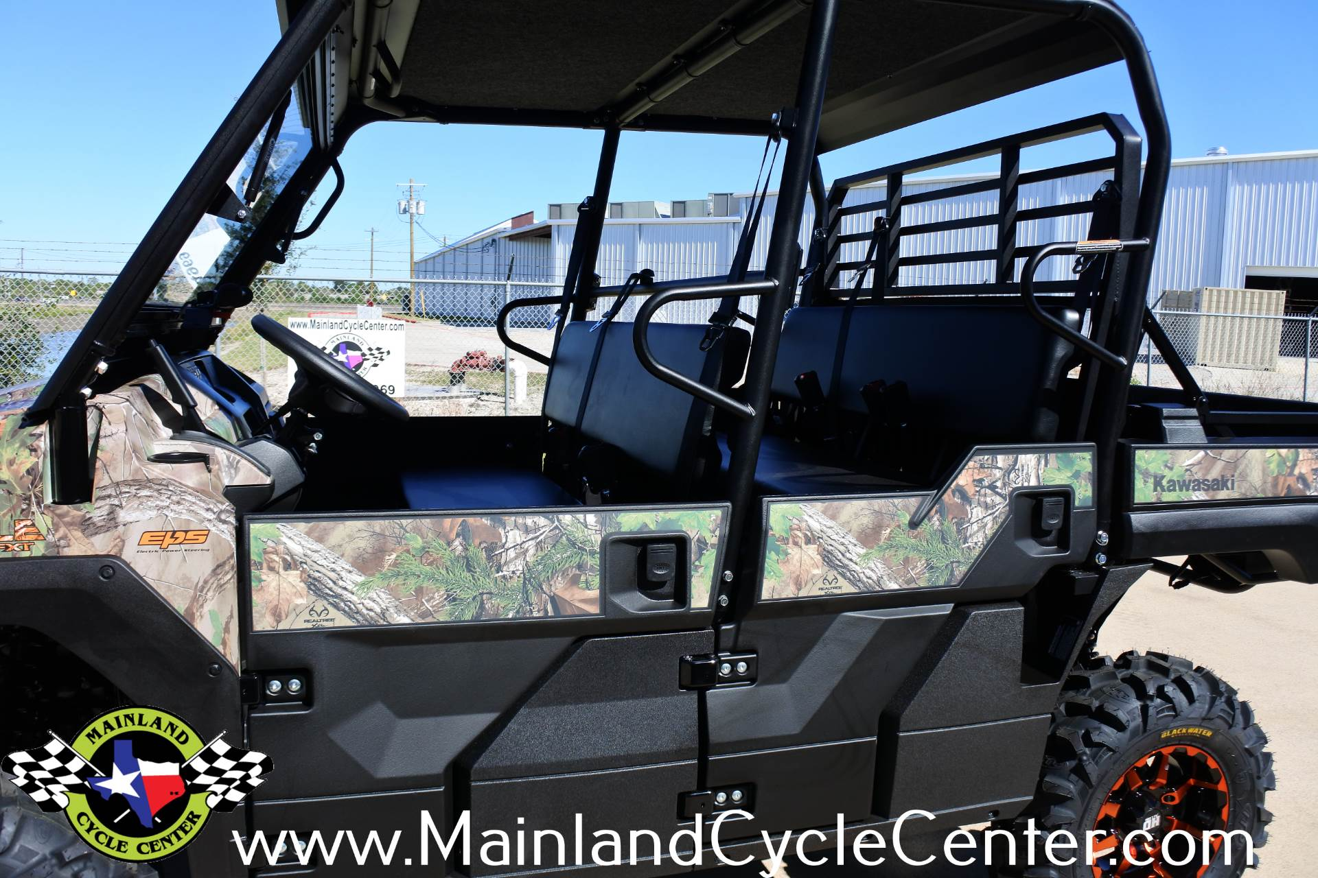 2018 Kawasaki Mule PRO-FXT EPS Camo in La Marque, Texas - Photo 17